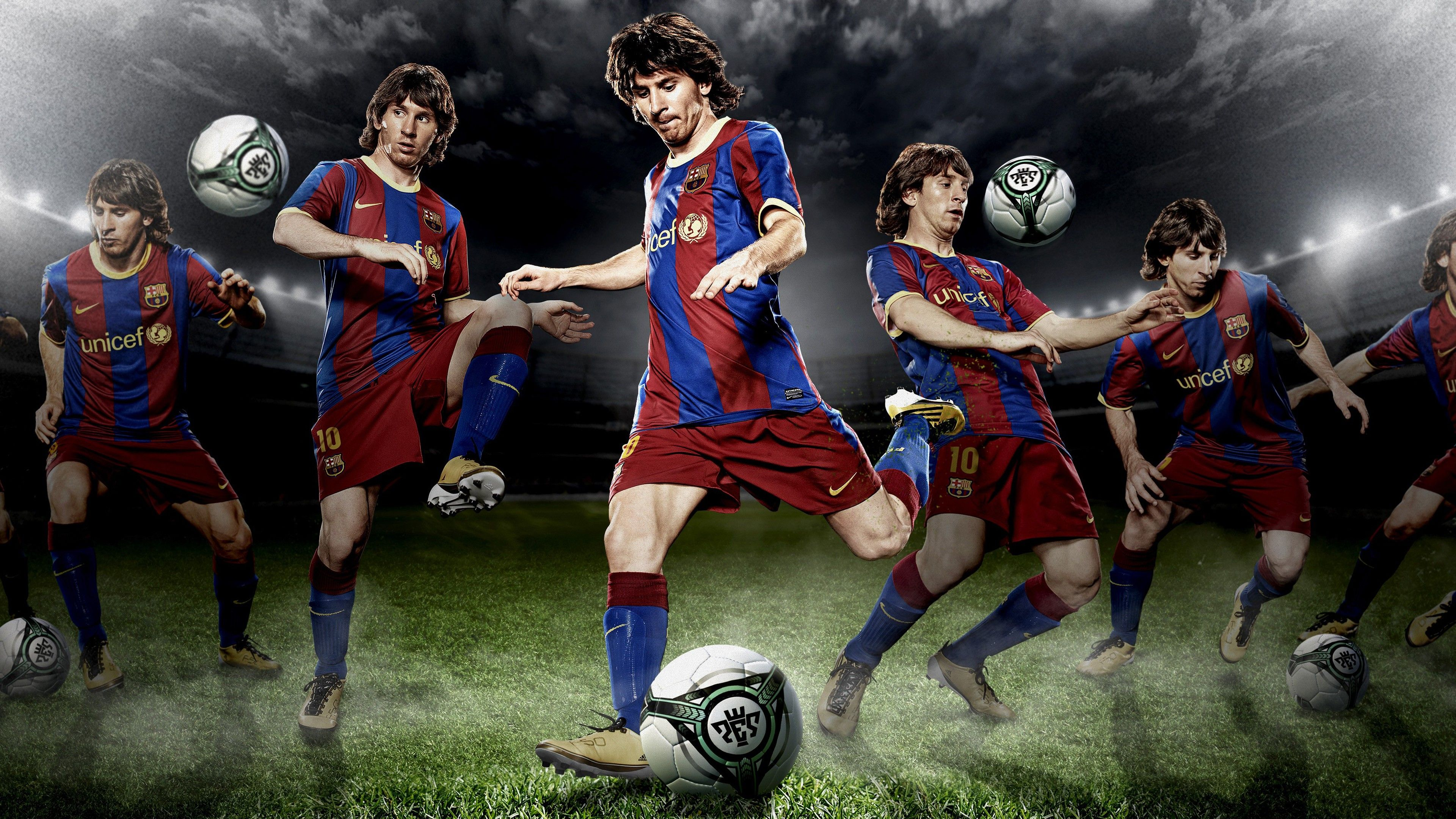 Soccer player Lionel Messi 4K Wallpapers
