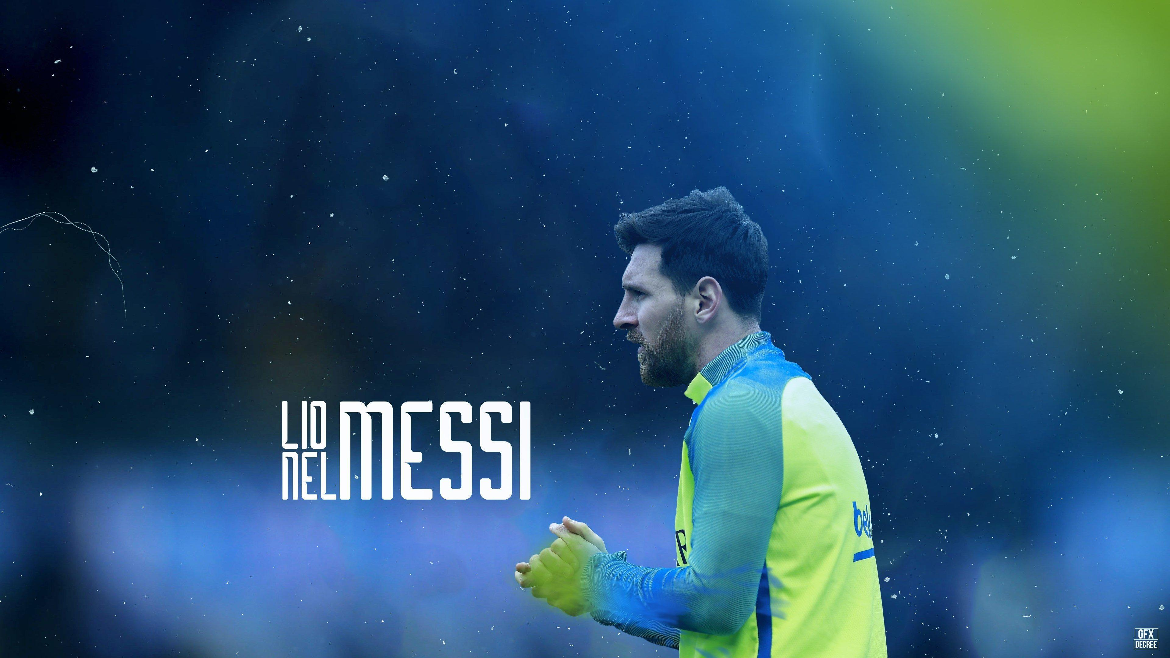 3840x2160 lionel messi 4k free high def wallpapers