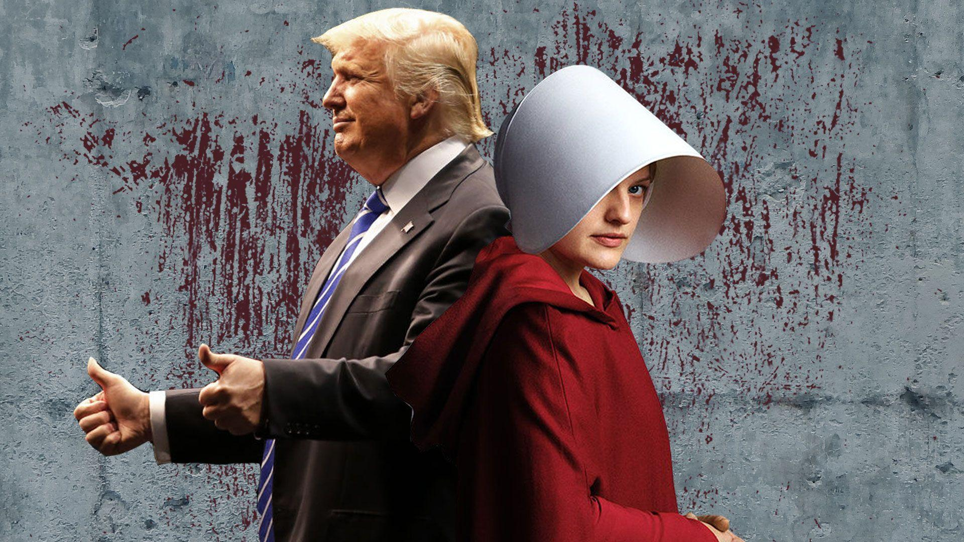 Trump's The Handmaid's Tale from Funny Or Die, Charles Muzard,