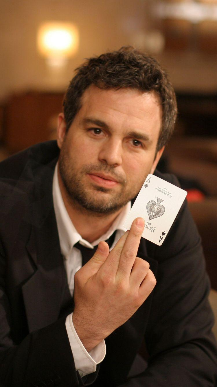 Download Wallpapers 750x1334 Mark ruffalo, Actor, Man, Brunette, Card