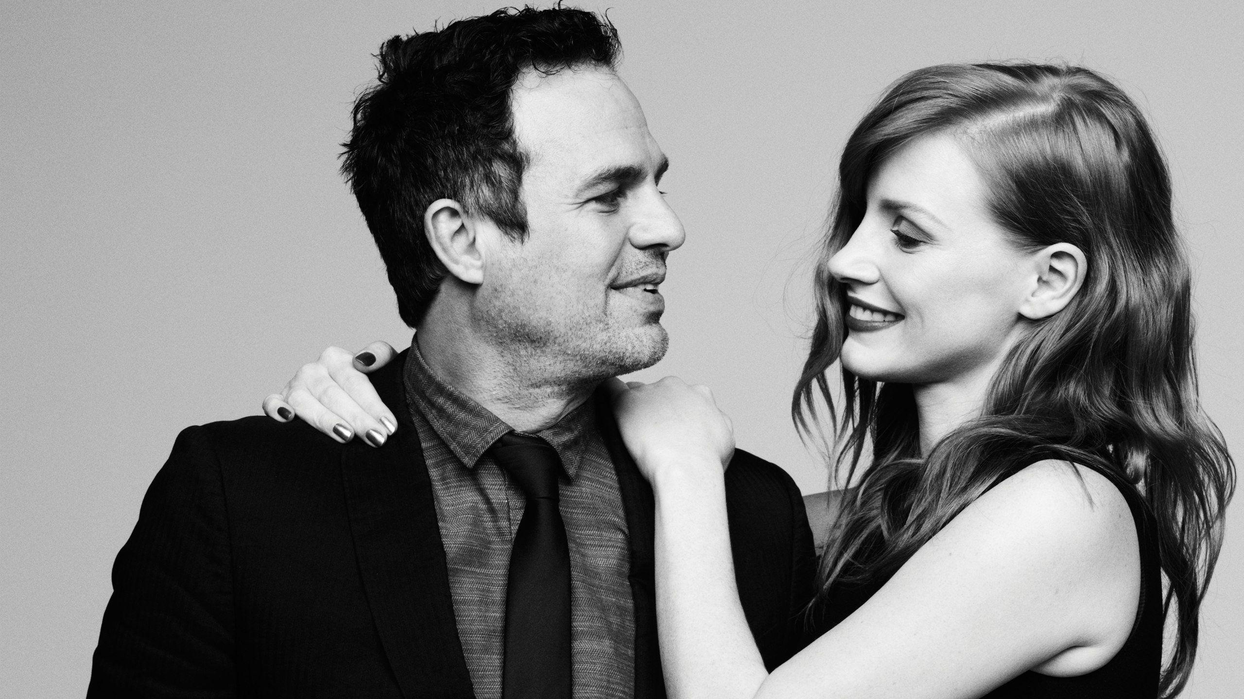 Jessica Chastain, Women, Redhead, Actress, Mark Ruffalo, Men, Actor