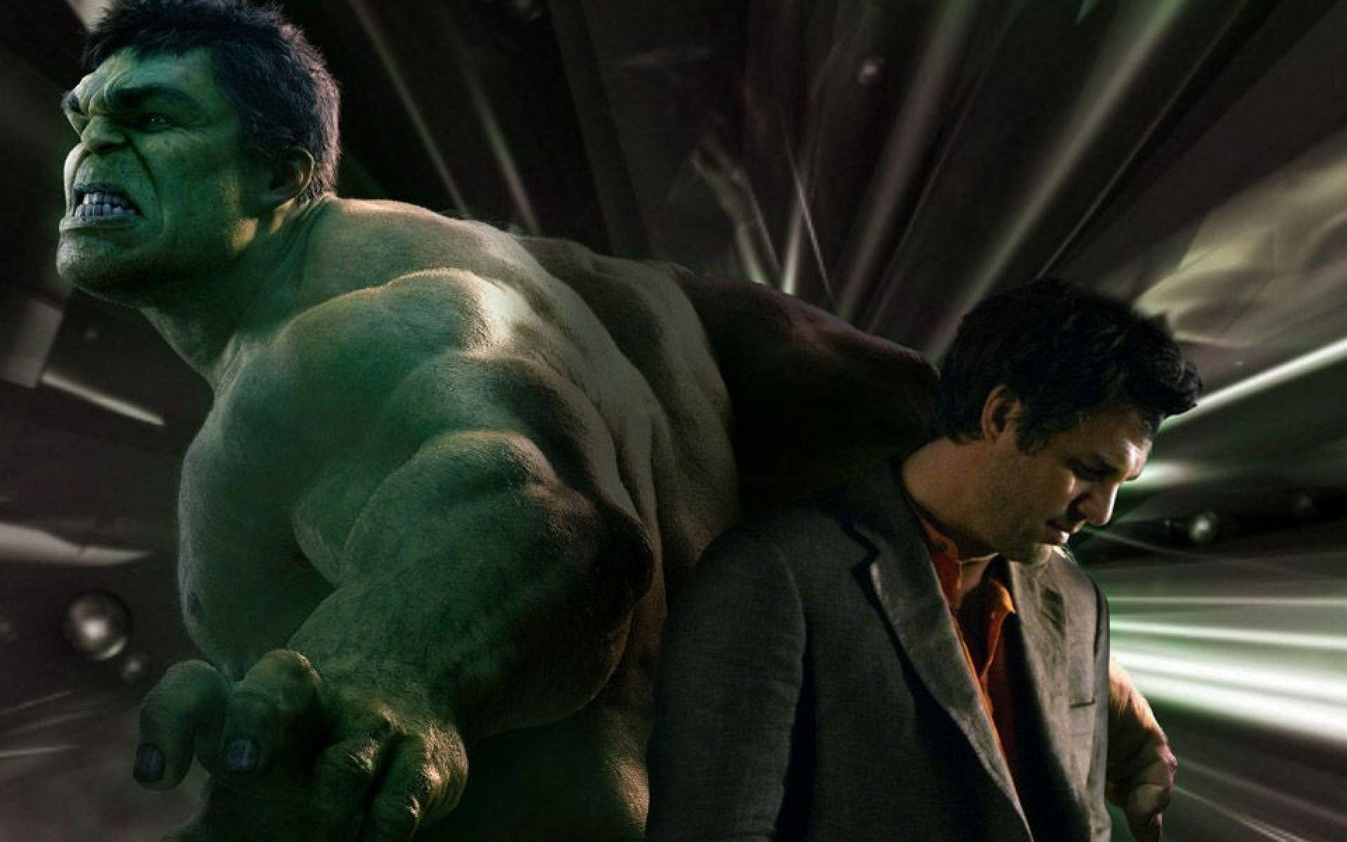 Hulk Vs Bruce Banner Mark Ruffalo By Rob Keyes