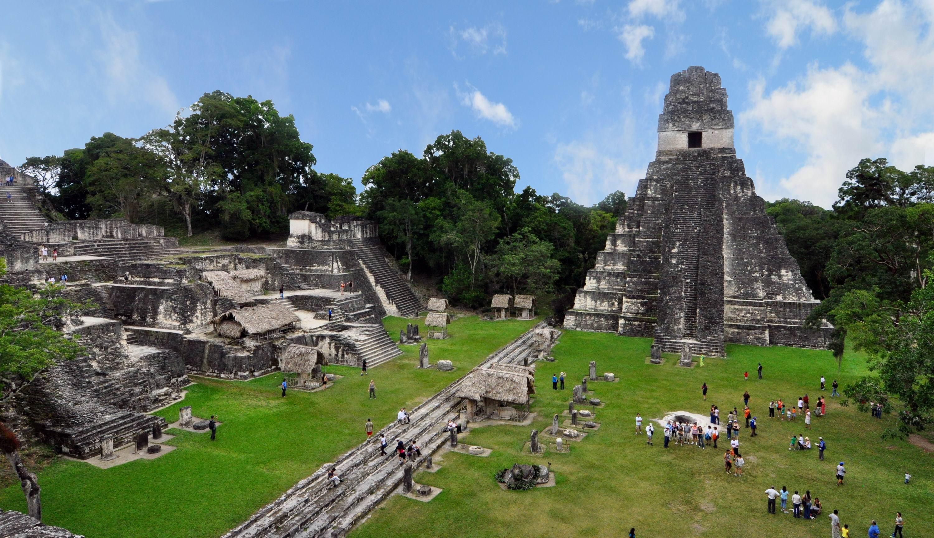 Mayan Ruins, Tikal – Guatemala wallpapers | Hispanic Country Pics ...