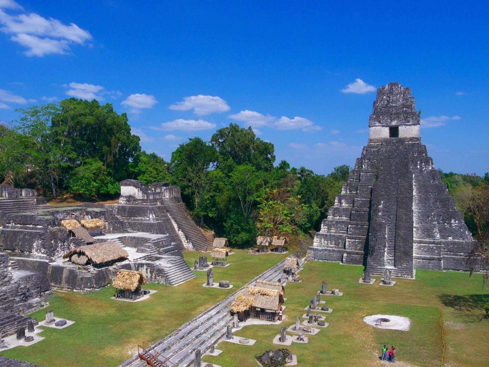Tikal Maya Ruins - alias the Planet Yavin - Maho On Earth