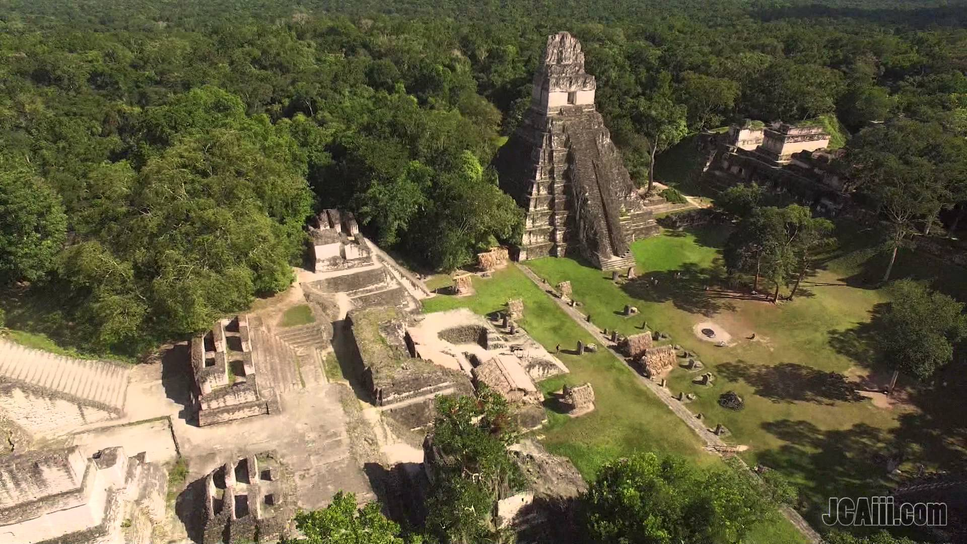 Mayan Ruins of Tikal..! shot in 4K! - YouTube