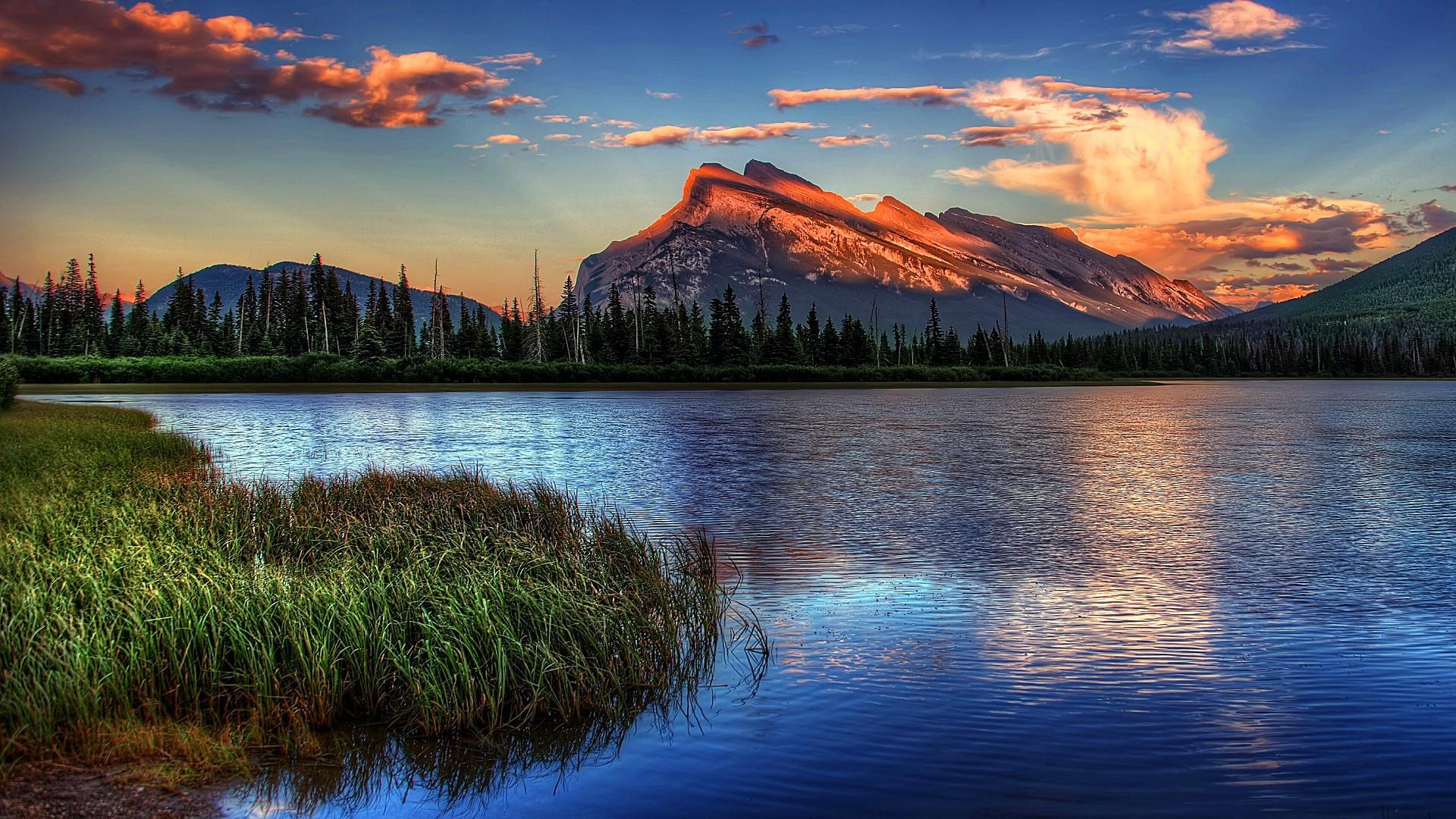 Vermillion Lakes, Banff National Park Wallpapers