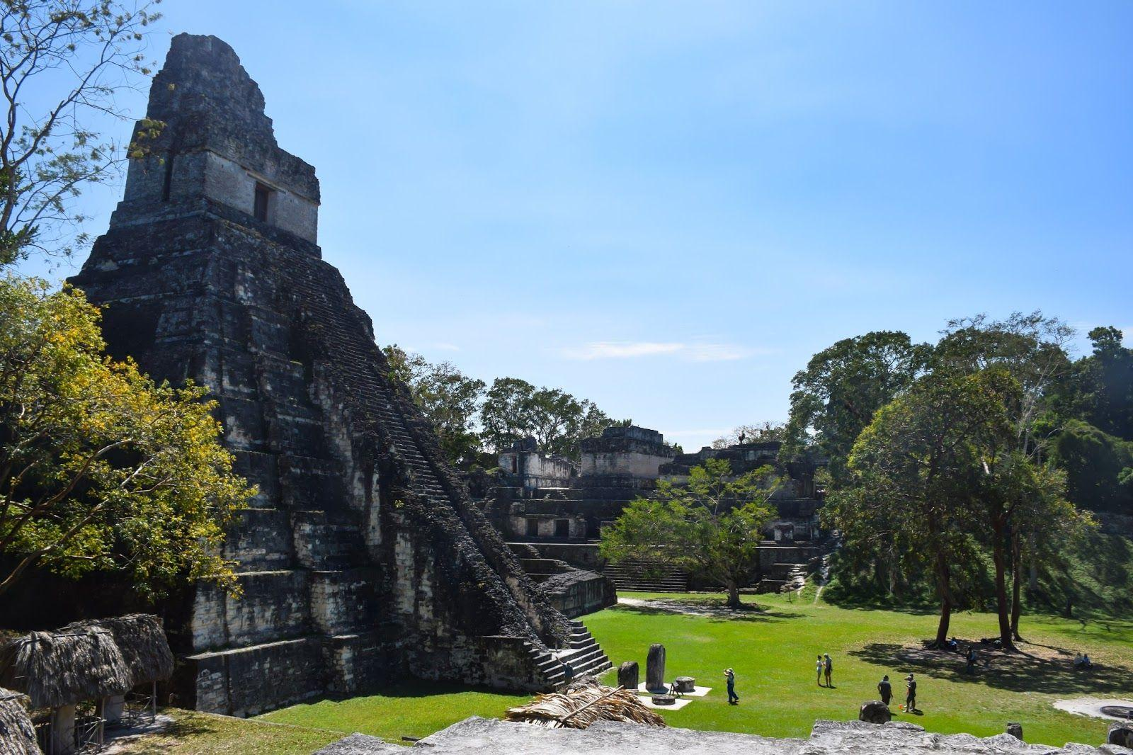 Exploring The Ruins of Tikal - A Make Believe World