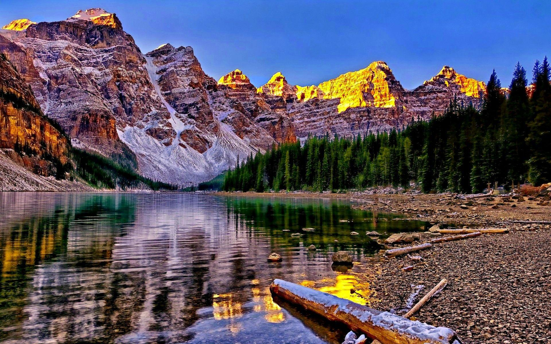 Amusement Parks: BANFF NATIONAL PARK CANADA Scenery Scenic Pakr