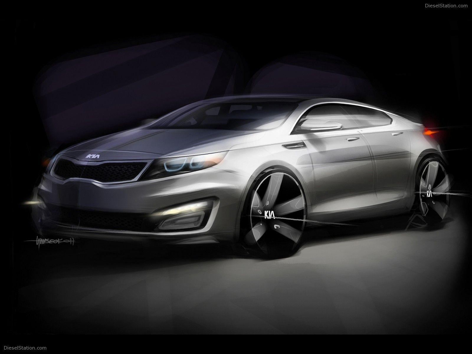 Kia Optima 2011 Exotic Car Wallpapers #02 of 12 : Diesel Station