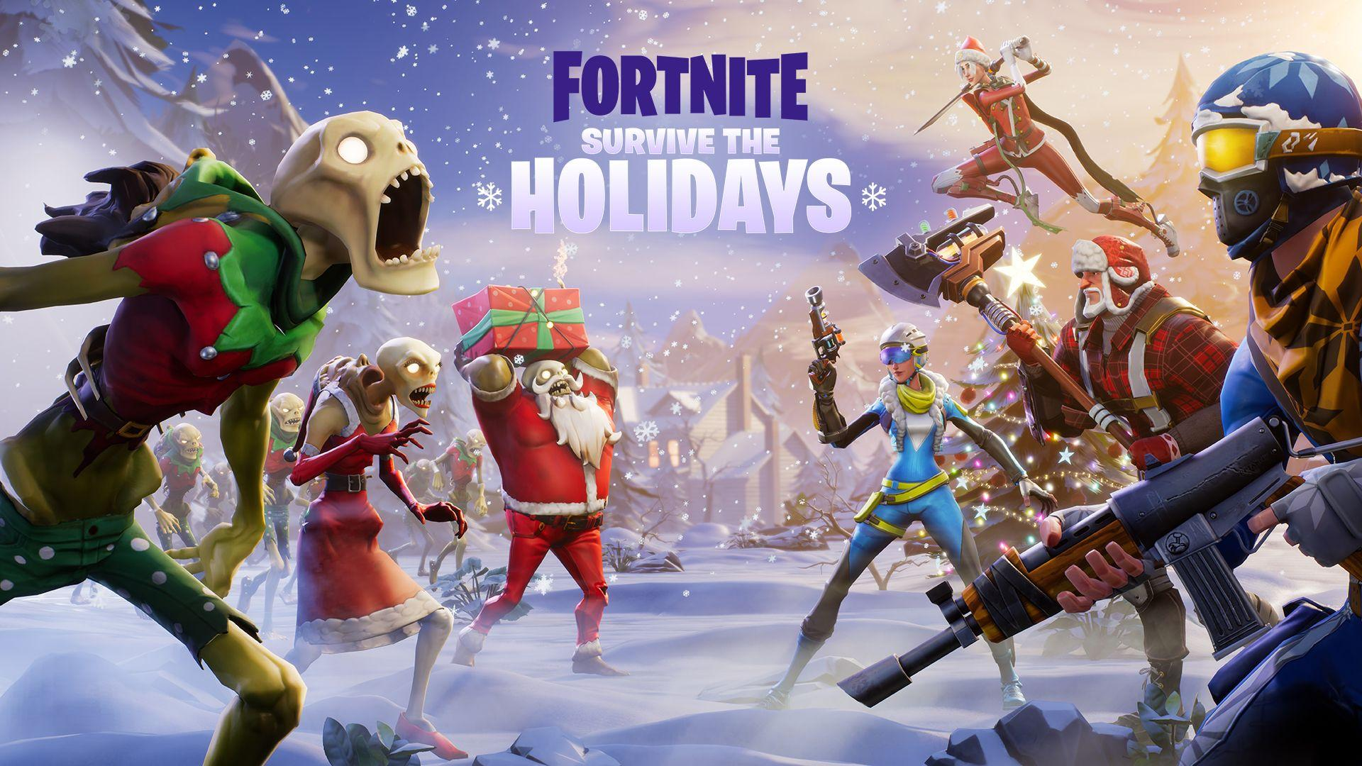 Save the World - Survive the Holidays - Epic Games' Fortnite - Husk Monsters Fortnite Wallpapers