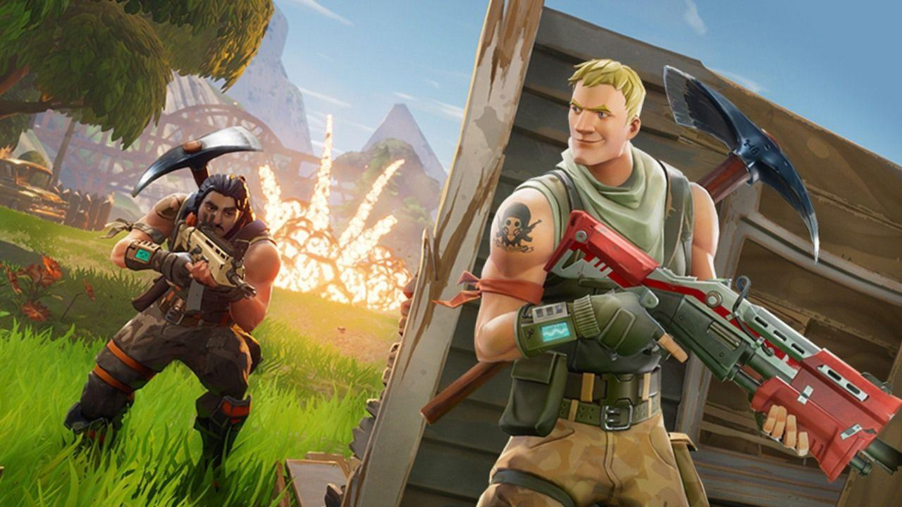 Fortnite Battle Royale Adds Building and Destruction to its PUBG