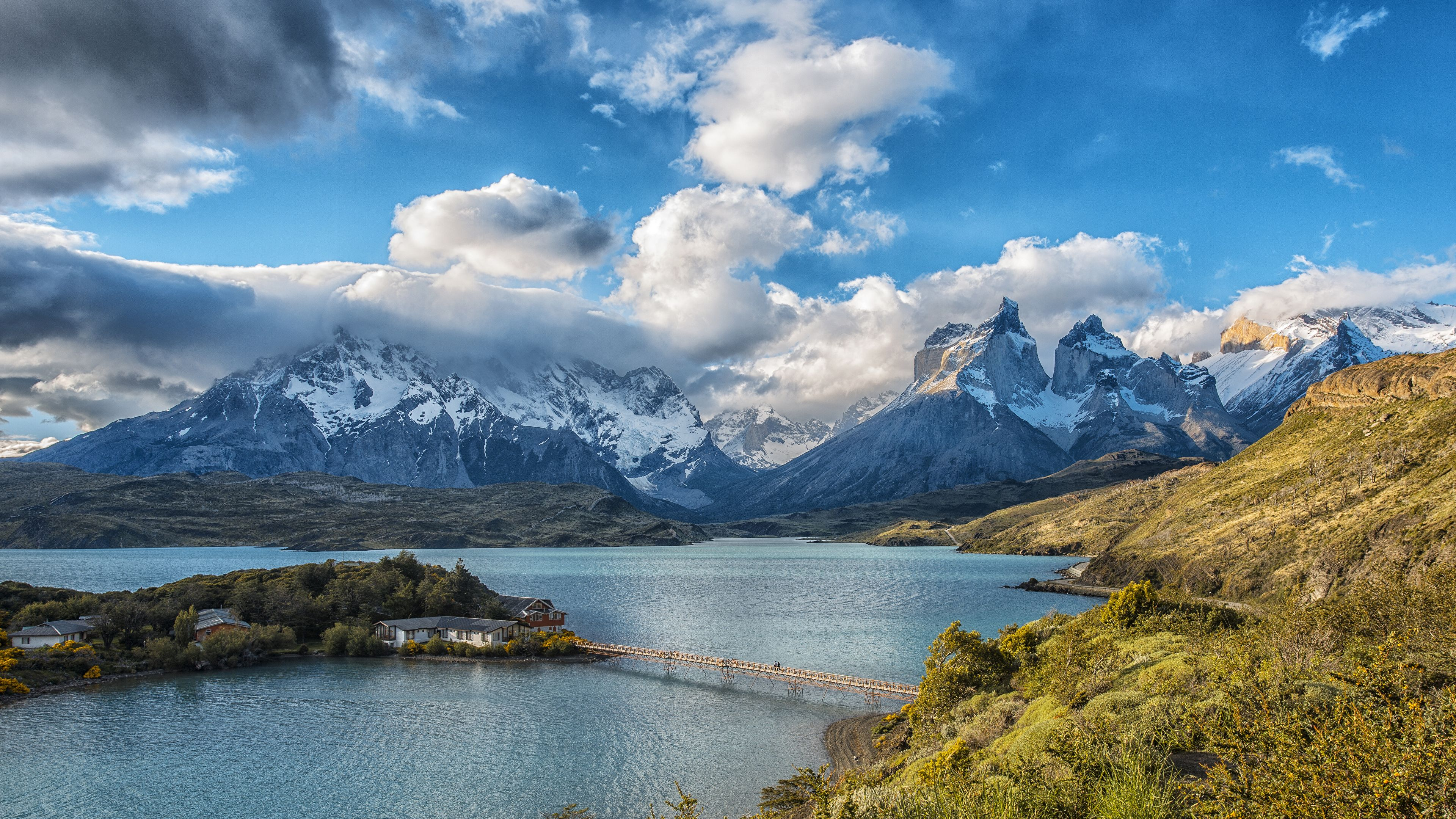 Fondo Escritorio Paisaje Nevada En Cumbre: Torres Del Paine National Park Wallpapers