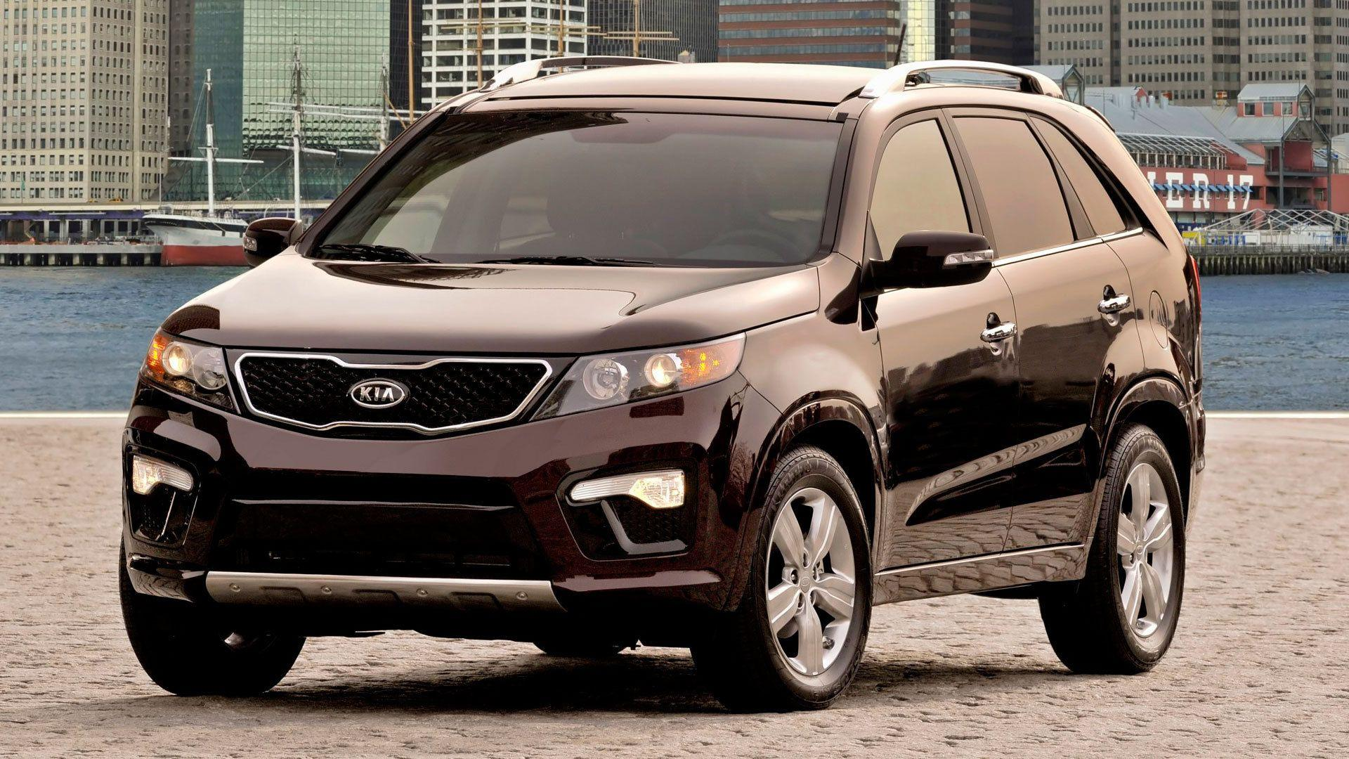 Test drive the car Kia Sorento wallpapers and image