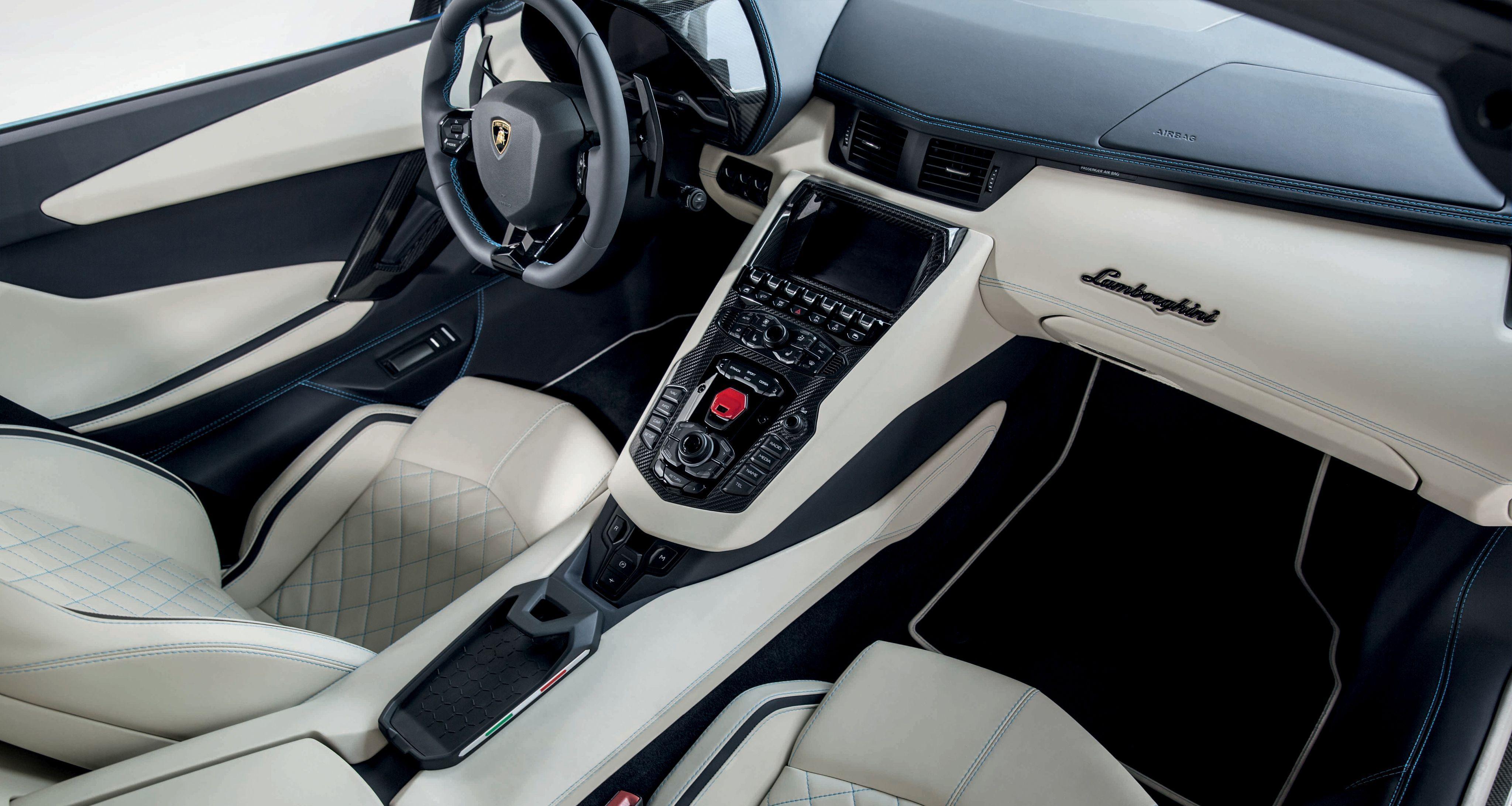 Lamborghini aventador s roadster wallpapers wallpaper cave - Lamborghini aventador interior wallpaper ...