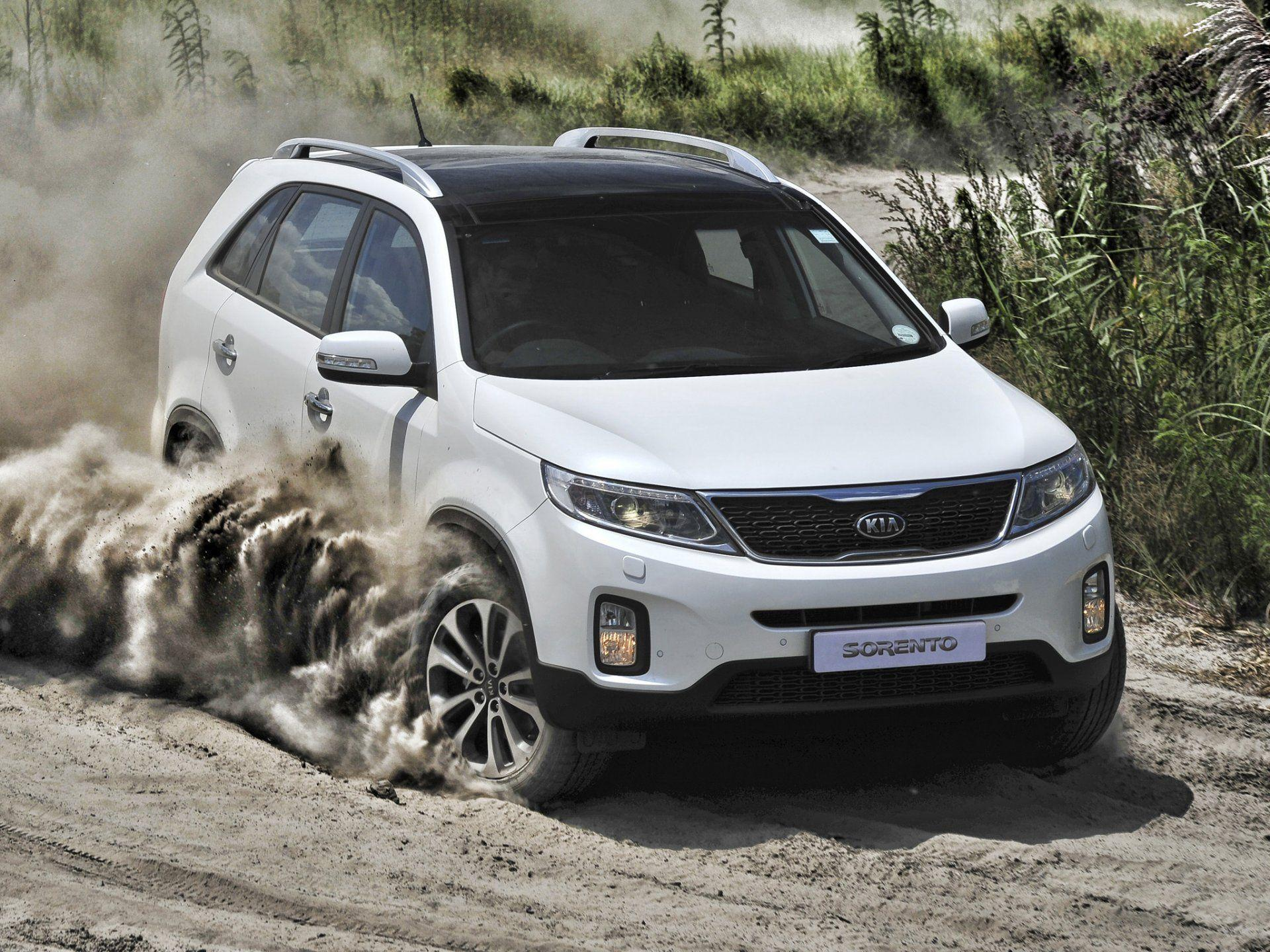 kia sorento dust land wheel slip HD wallpapers