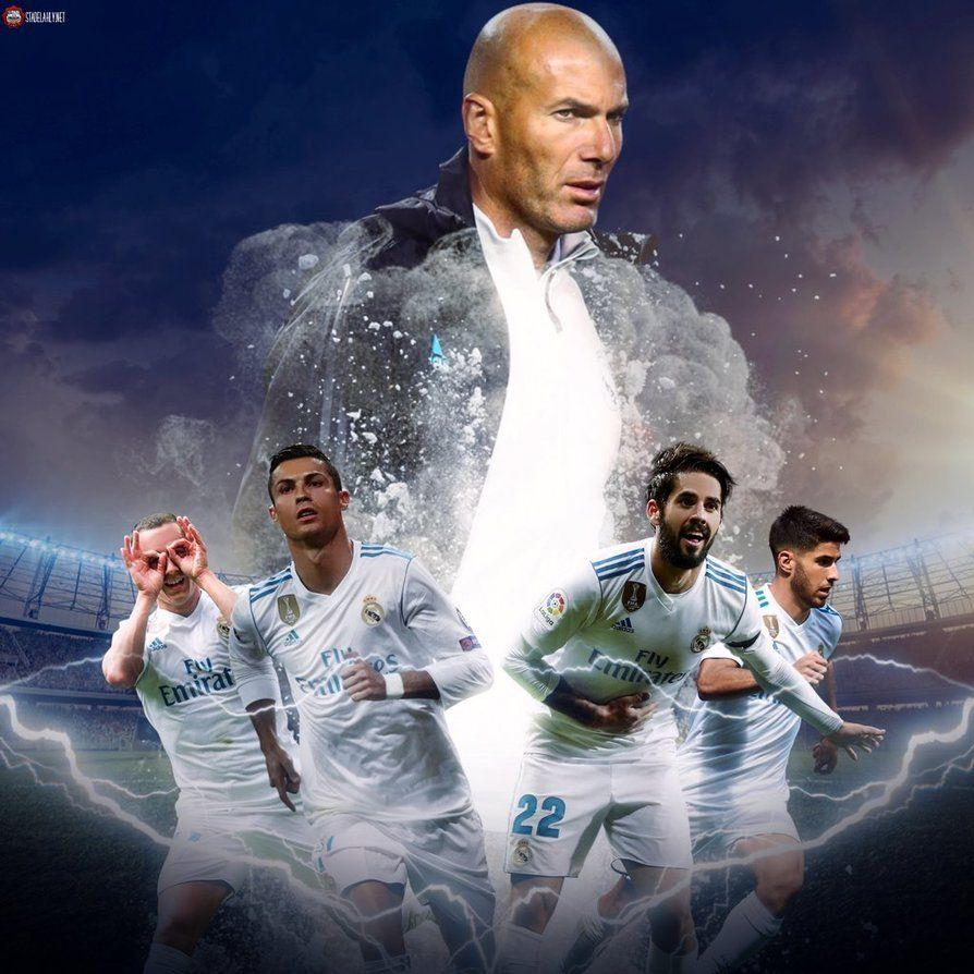 Real Madrid Players 2018 Wallpapers