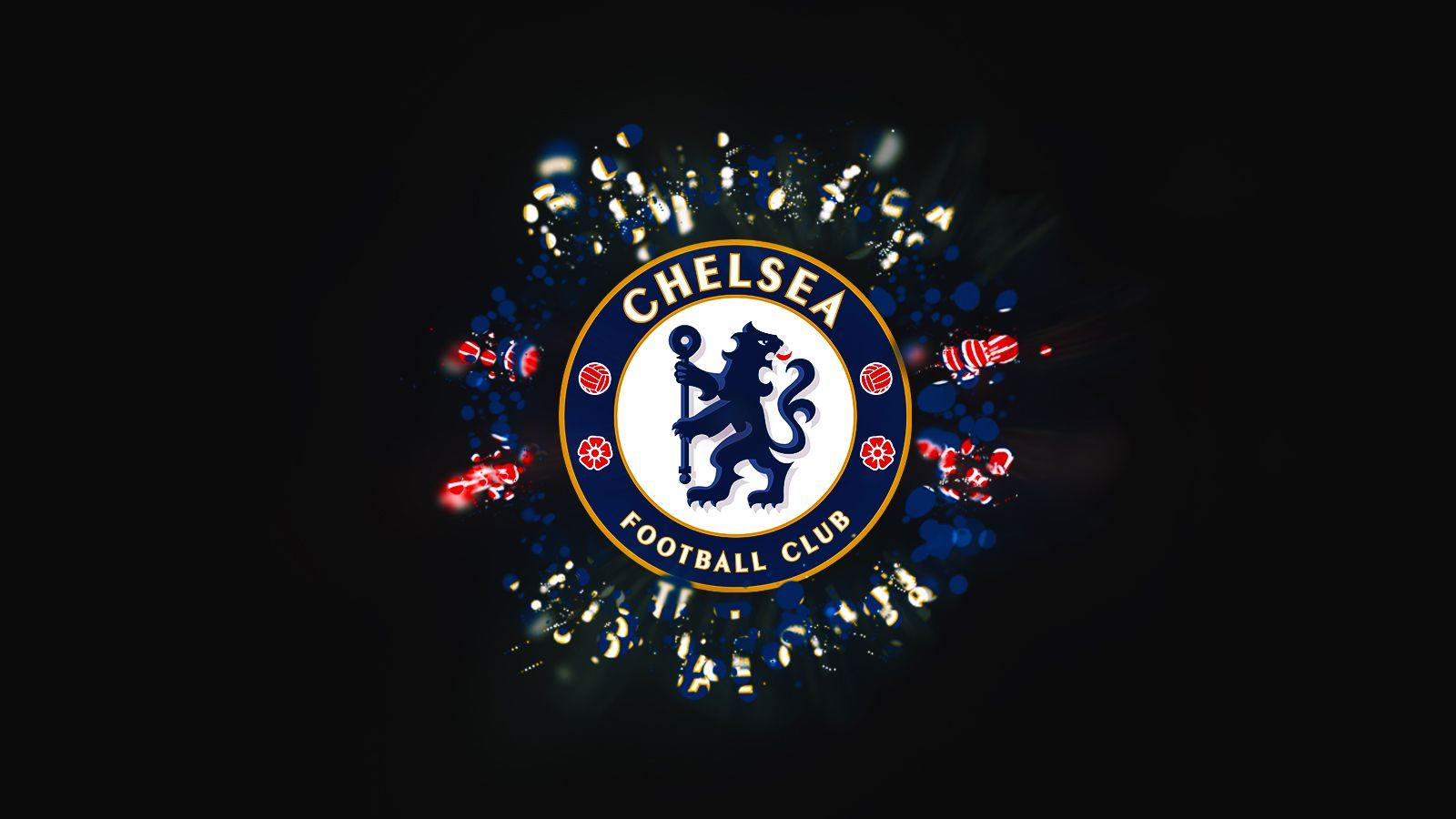 Chelsea Fc Black Wallpaper