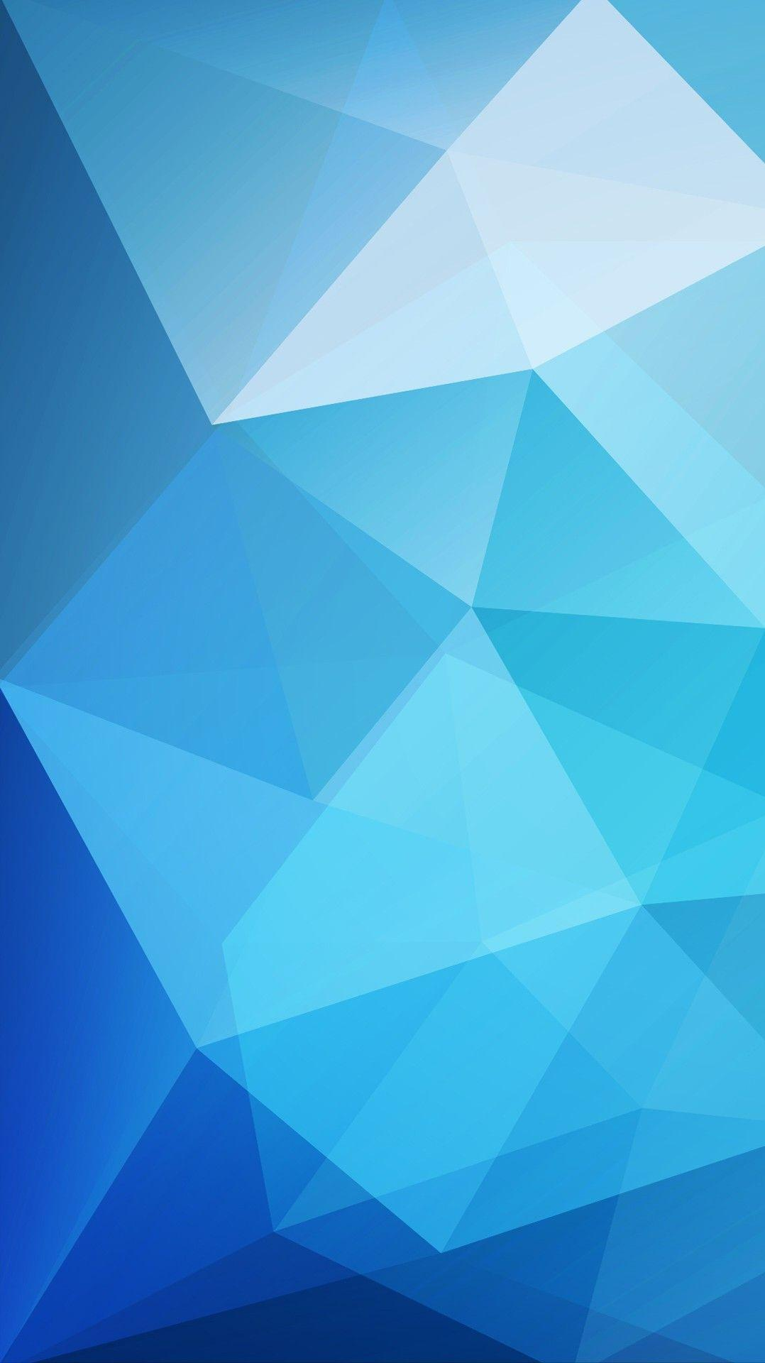 Blue Low Poly Wallpaper Iphone Wallpaper Iphone Wallpapers