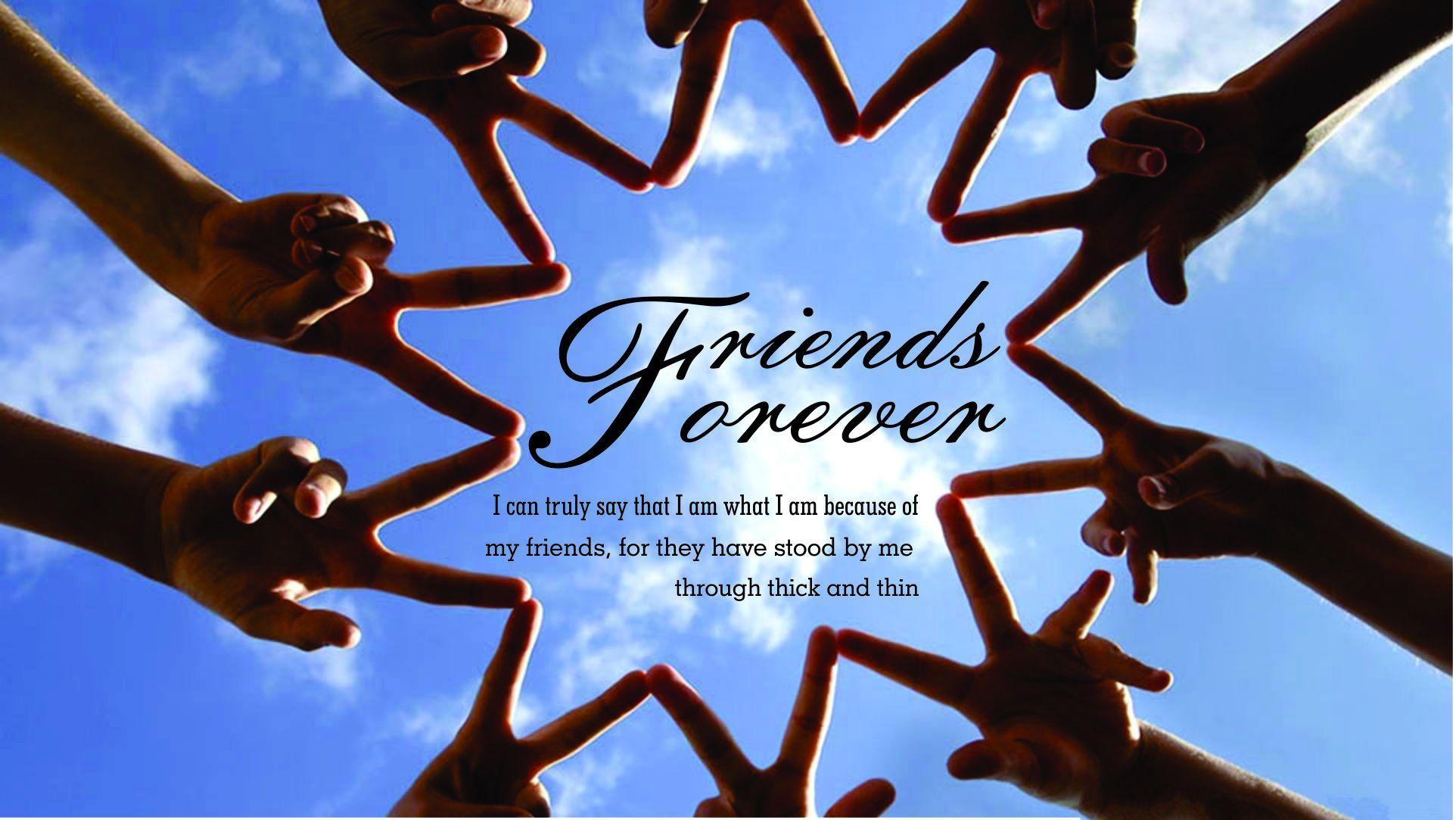 Friends Forever Hd Wallpapers Wallpaper Cave