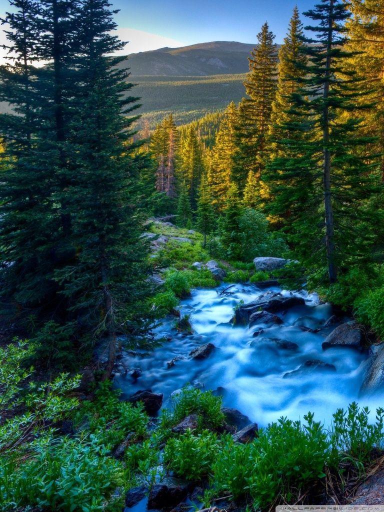 Nature Mountains 4K HD Desktop Wallpaper For Ultra TV