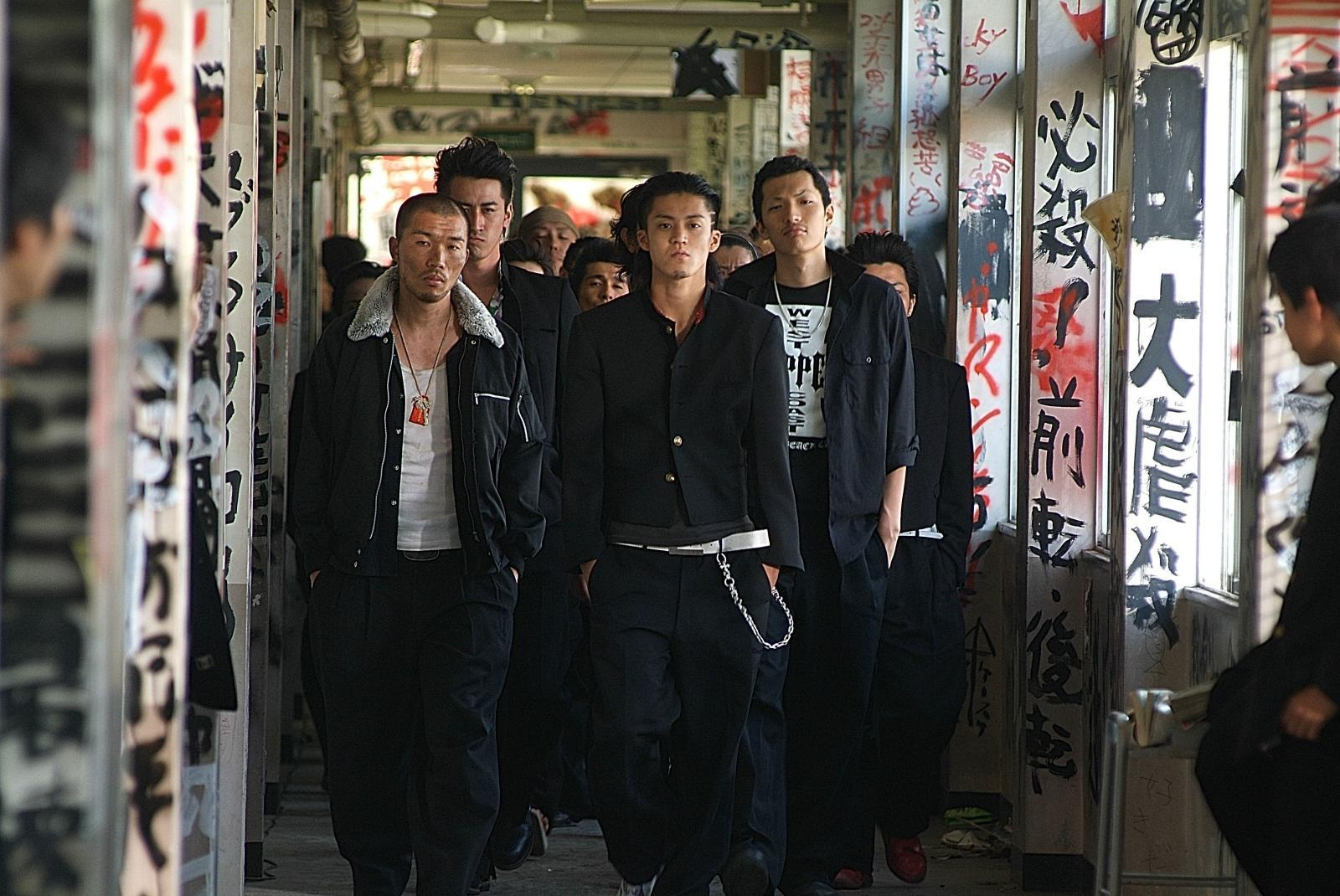 Cosplay Genji Crows Zero