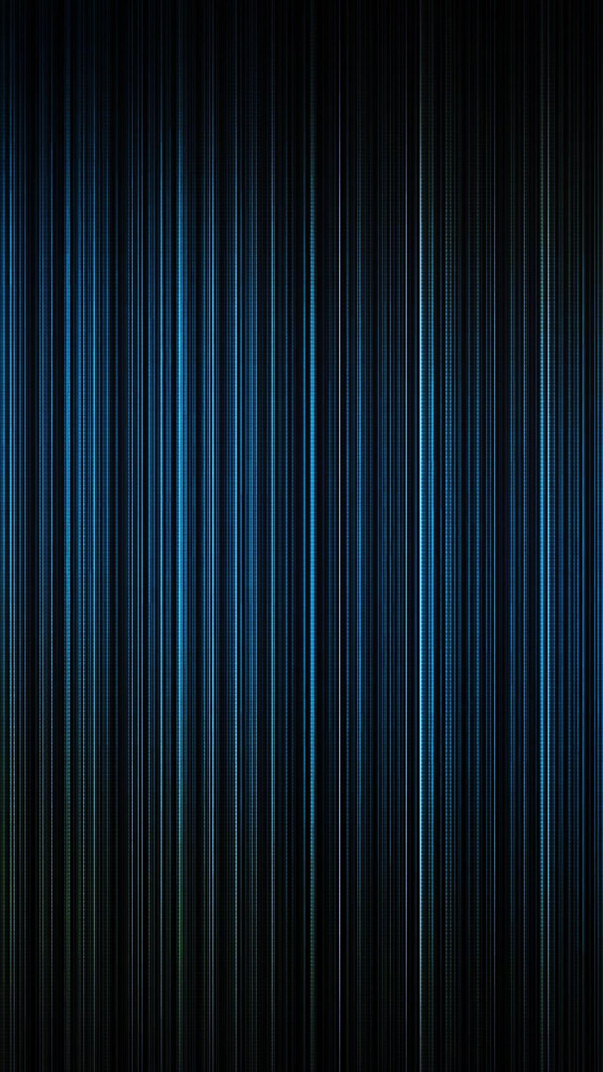 Blue Light Lines Straight Android Wallpapers free download