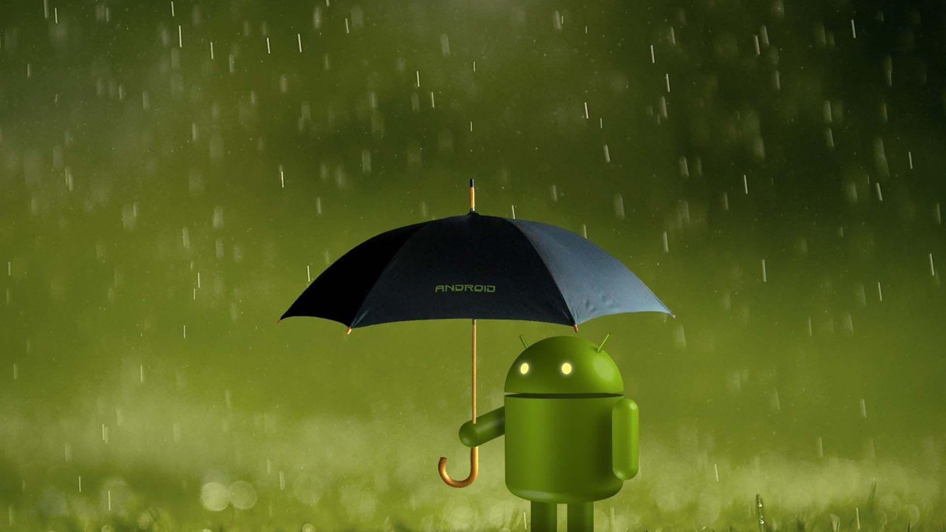 Rainy Android Wallpapers Wallpapers