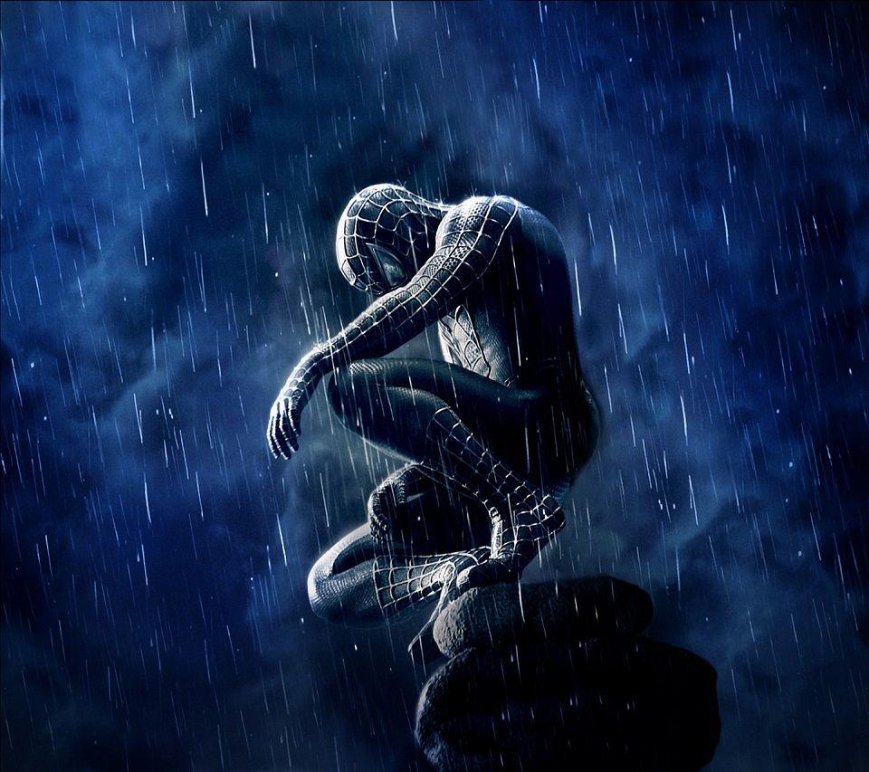 Spiderman Rain Android wallpapers HD