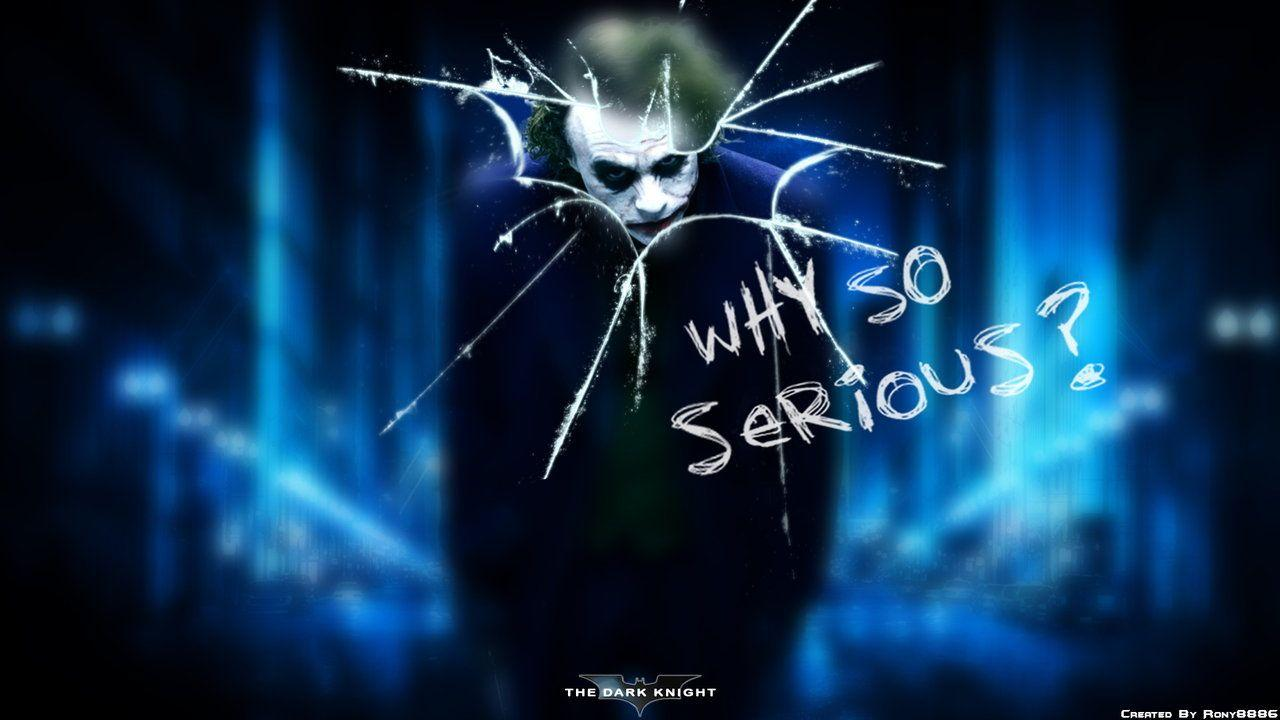 Joker Why So Serious Wallpapers Joker Why So Serious Wallpapers Mobile