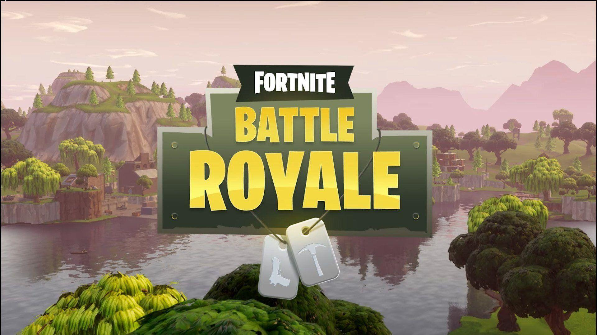 Game Screen Fortnite Battle Royale Wallpapers for Phone and HD