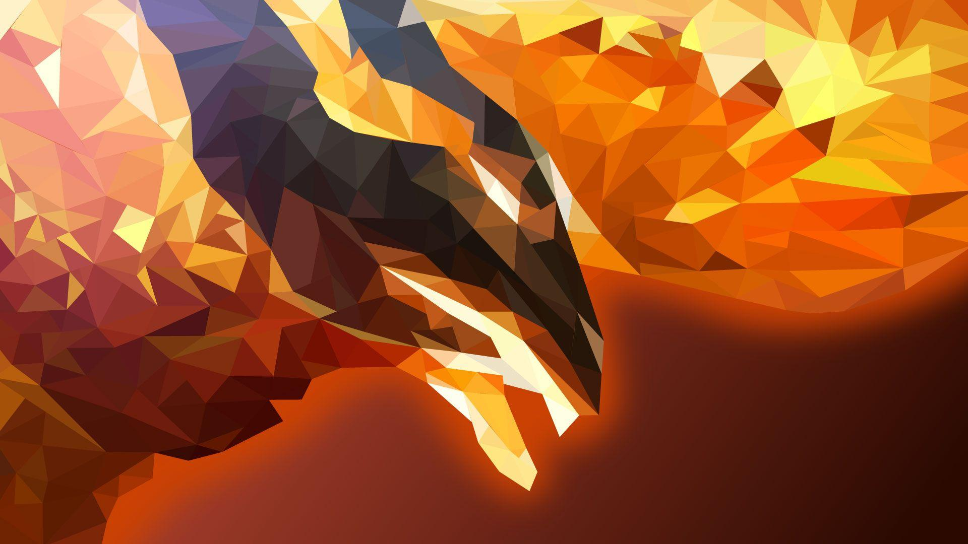 Polygon Art Wallpapers Wallpaper Cave