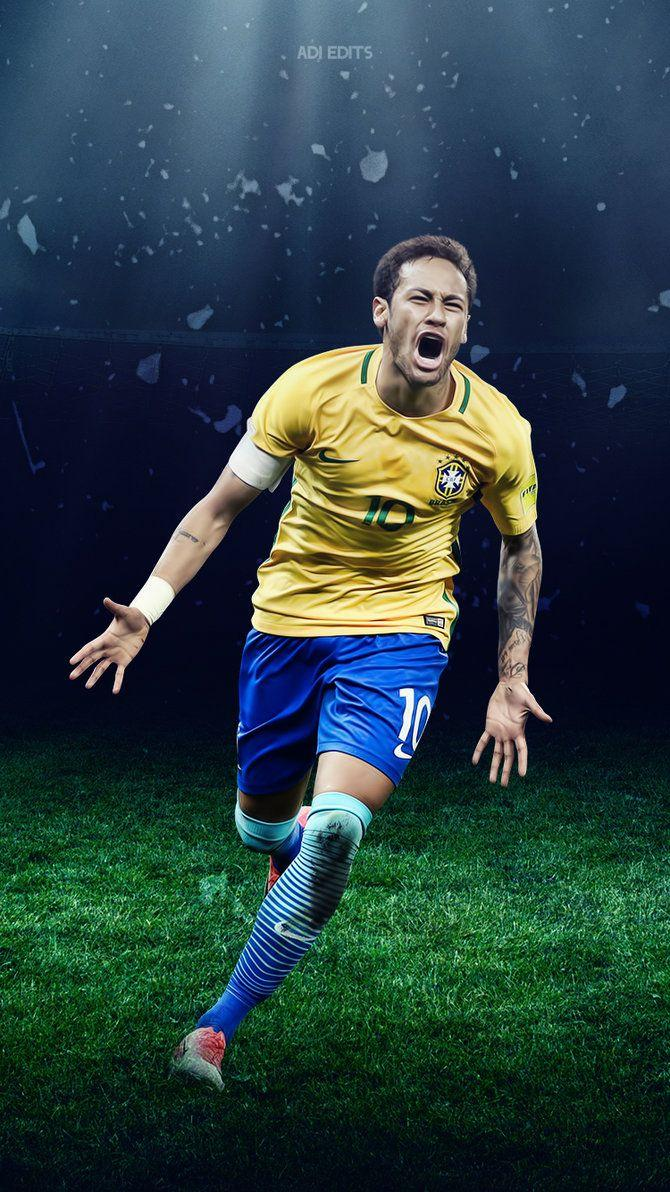 Neymar Jr. Brazil Lockscreen Wallpaper HD by adi-149 on DeviantArt