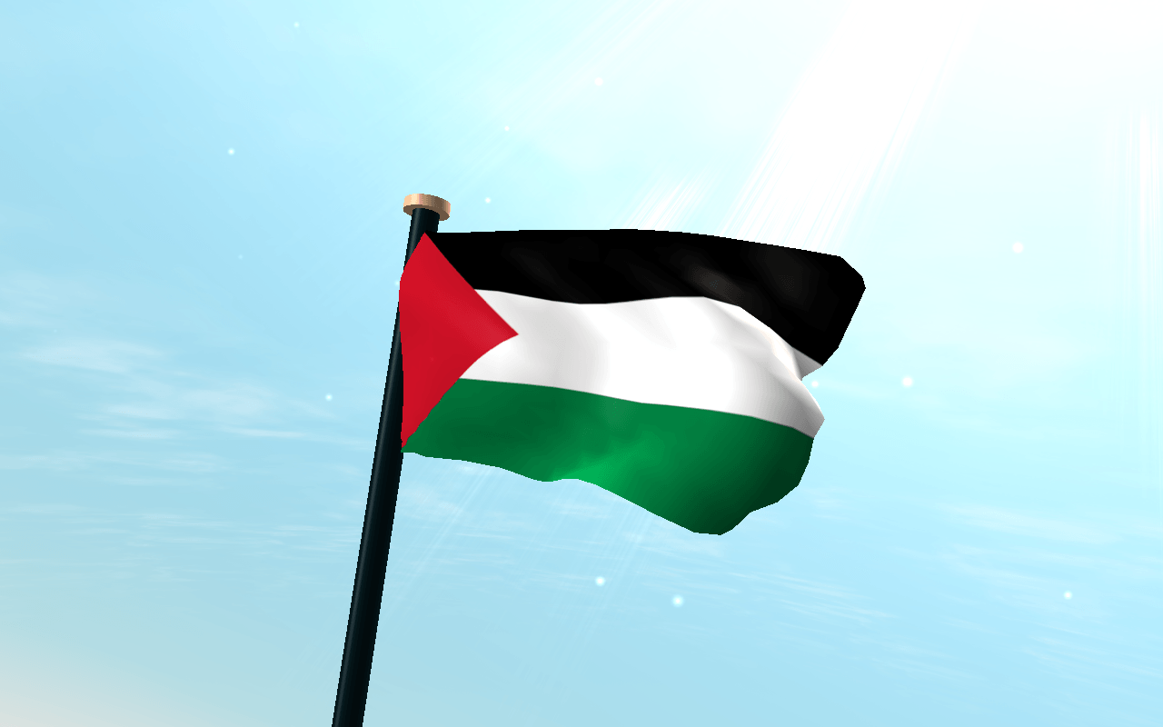 Palestine Flag 3D Wallpapers