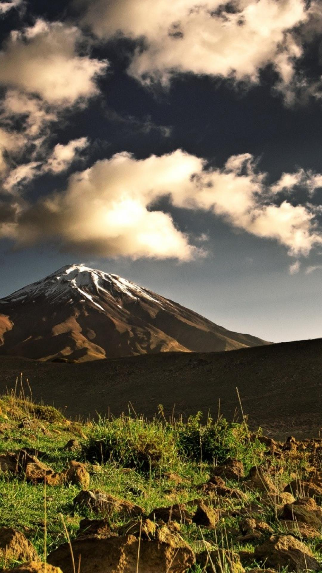 Mount kilimanjaro clouds landscapes mountains skylines wallpapers