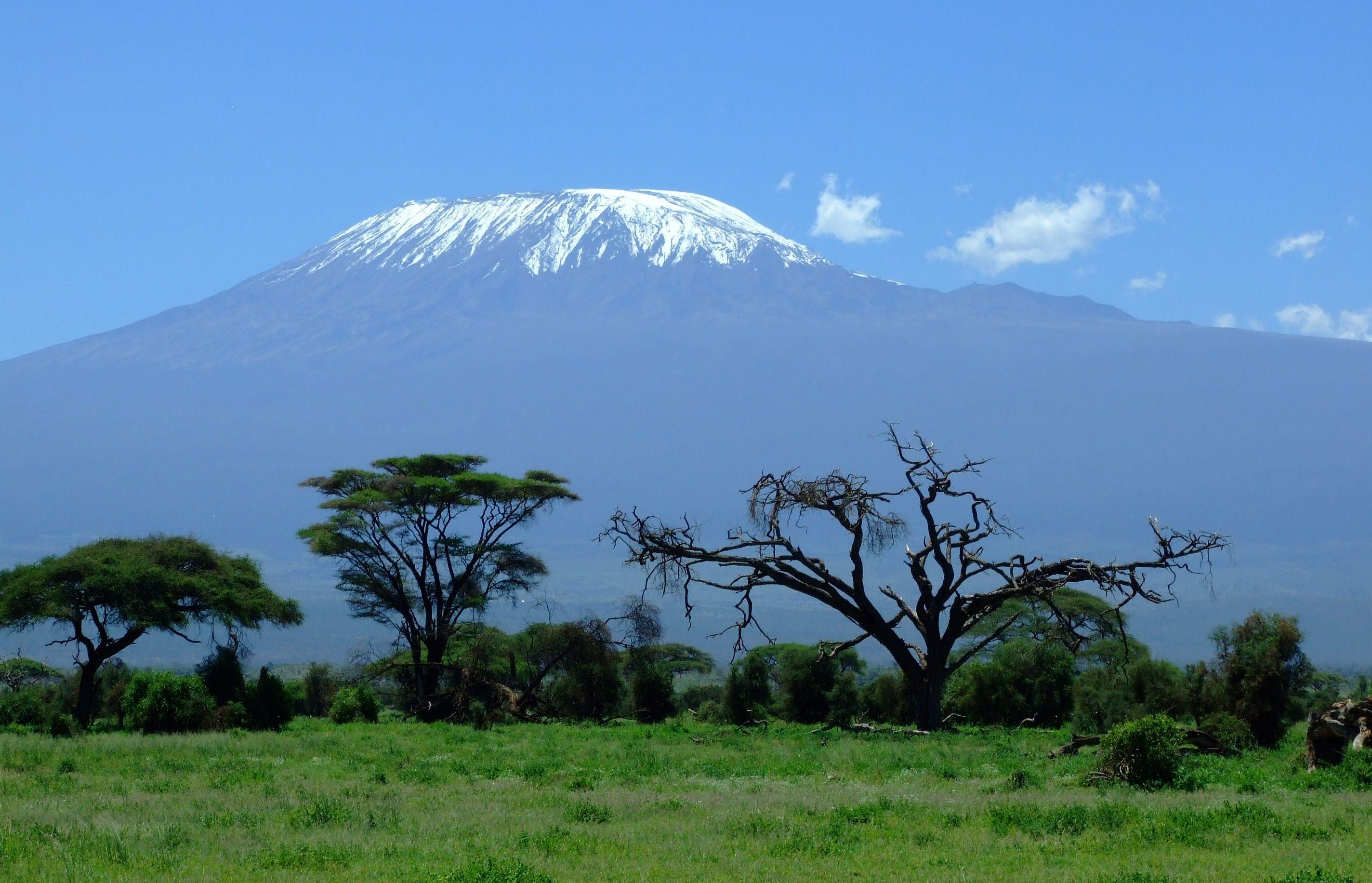 Mount Kilimanjaro is a dormant volcano in Tanzania Africa Full HD