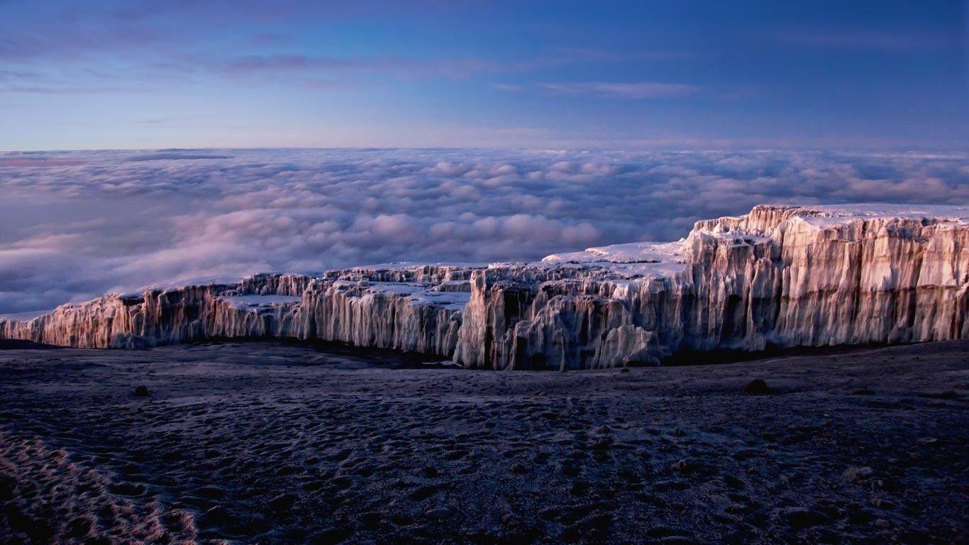 Download Wallpapers, Download 2560x1600 ice mountains clouds