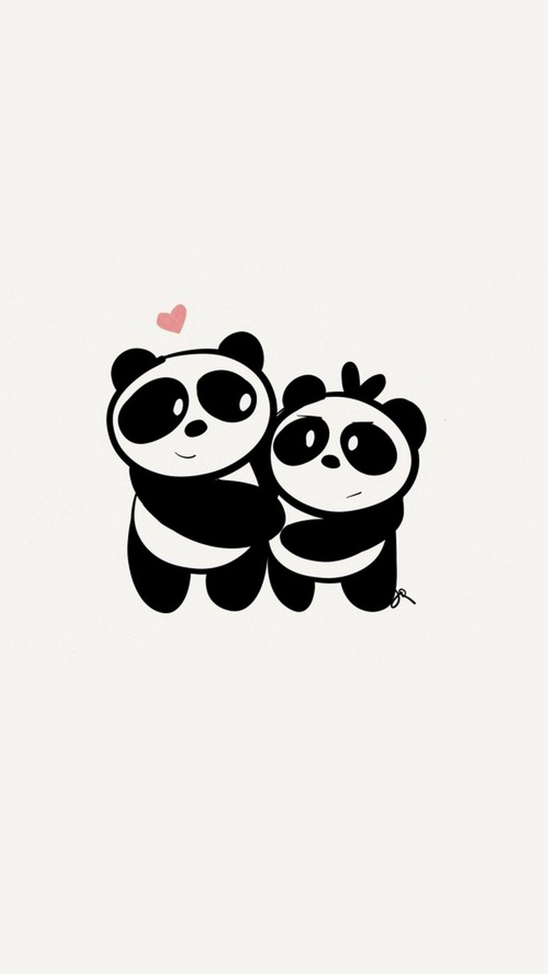 Panda Couple Wallpapers - Wallpaper Cave