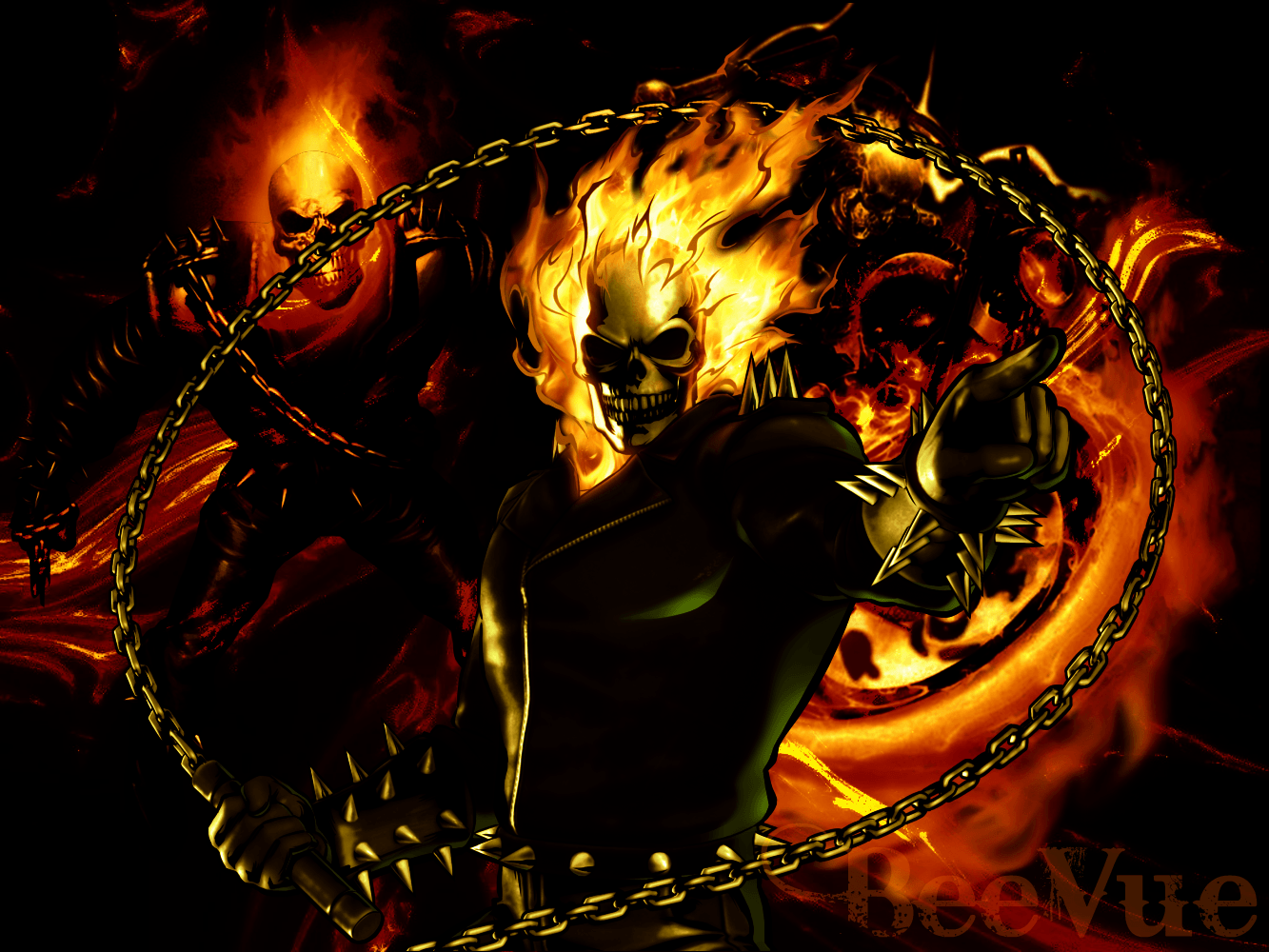 Wallpapers 3D Ghost Rider Wallpaper Cave
