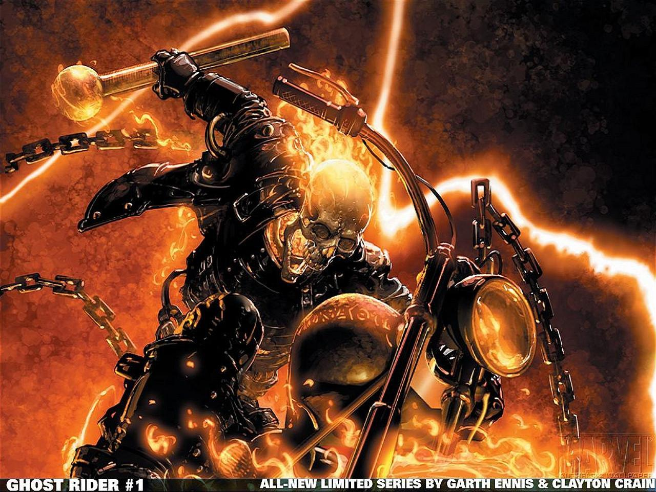 MFB› 49 Wallpapers of Ghost Rider HD