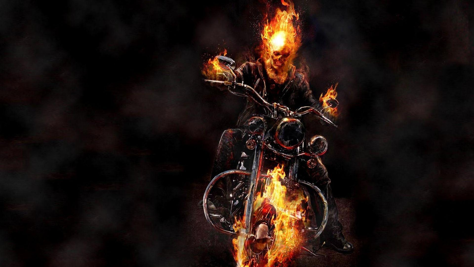 Motorcycle Ghost Rider Image HD Wallpapers