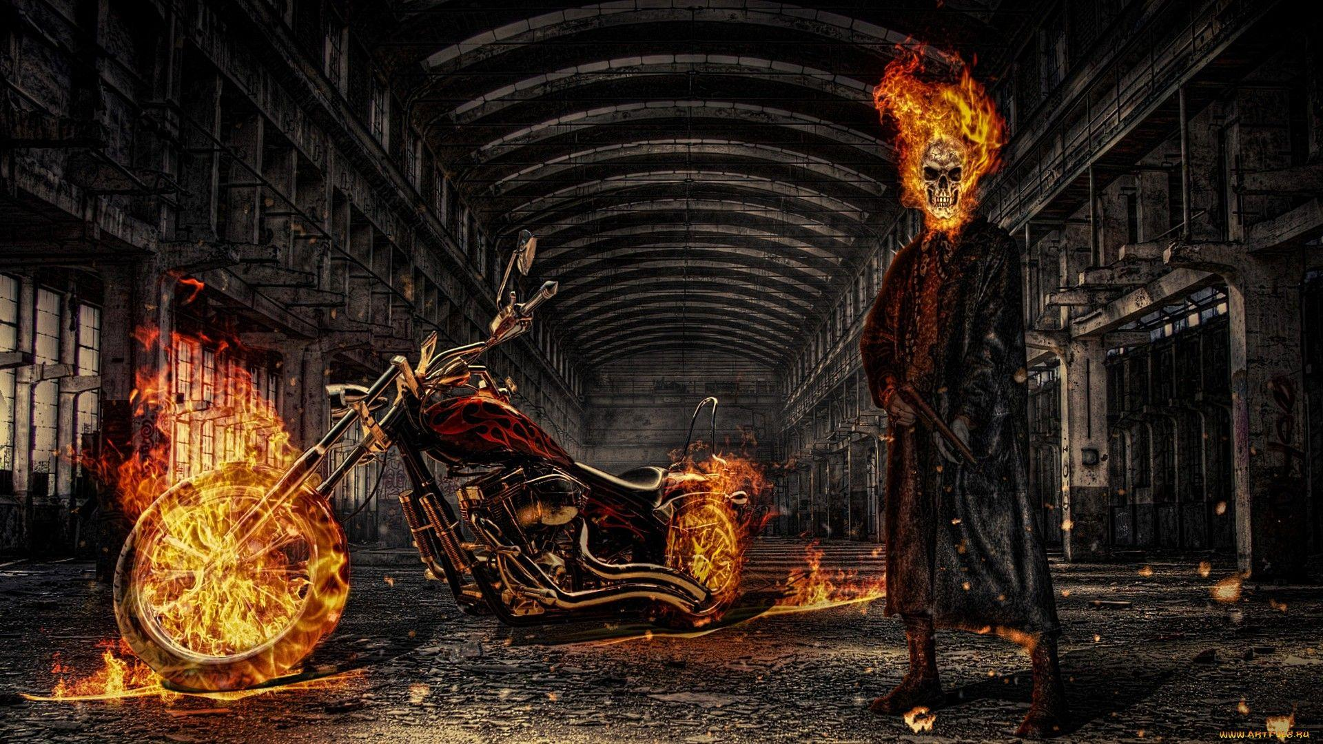 Ghost Rider Full HD Wallpapers and Backgrounds Image