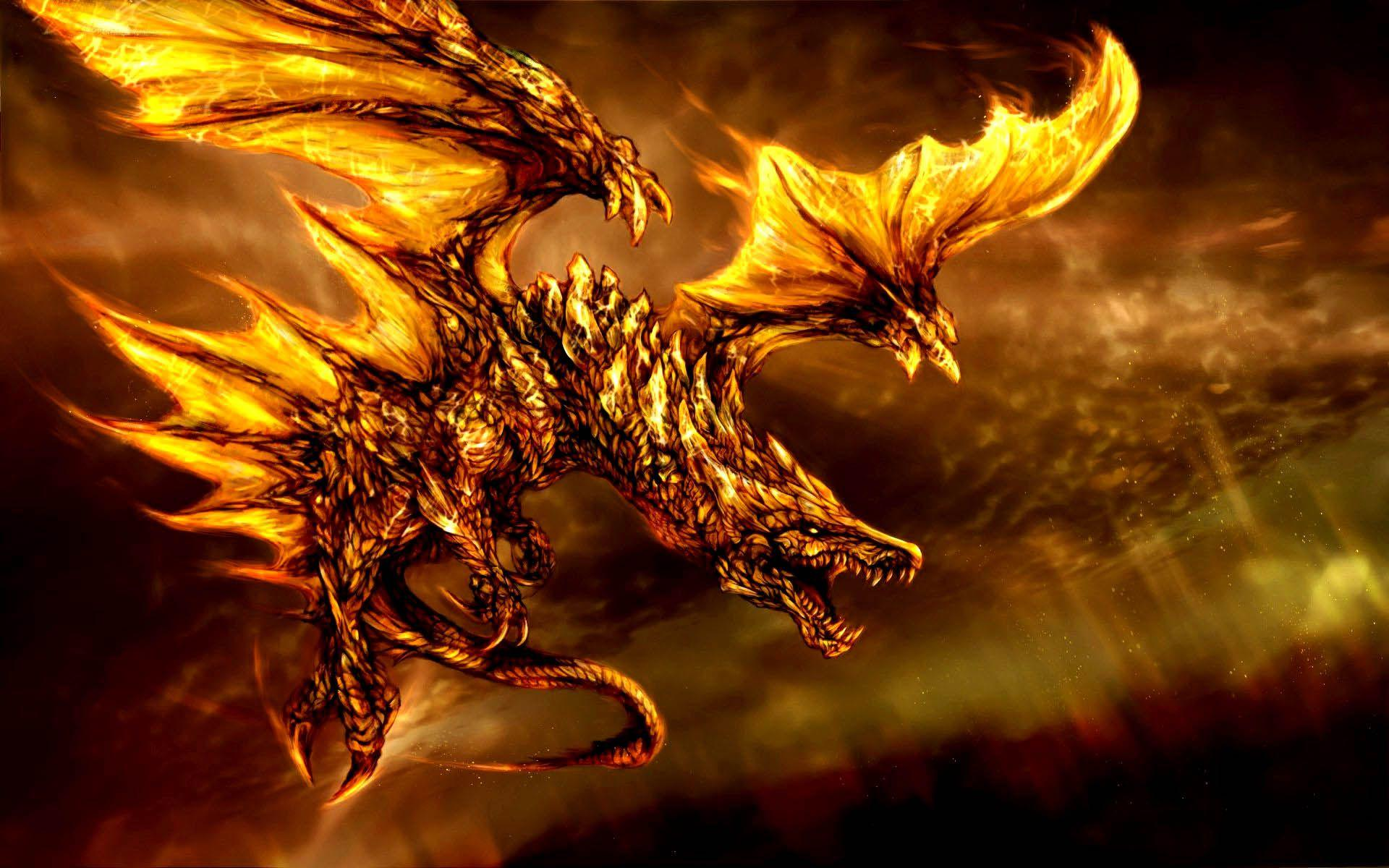 Fire Dragon Wallpapers 3d
