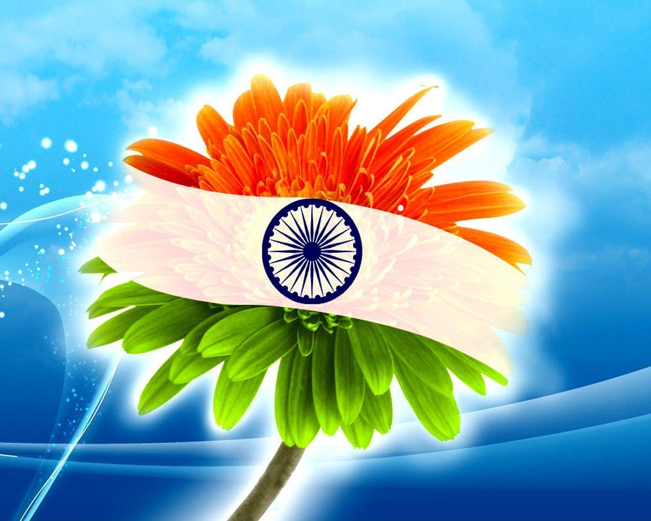 Indian Flags Flowers Flowers Healthy