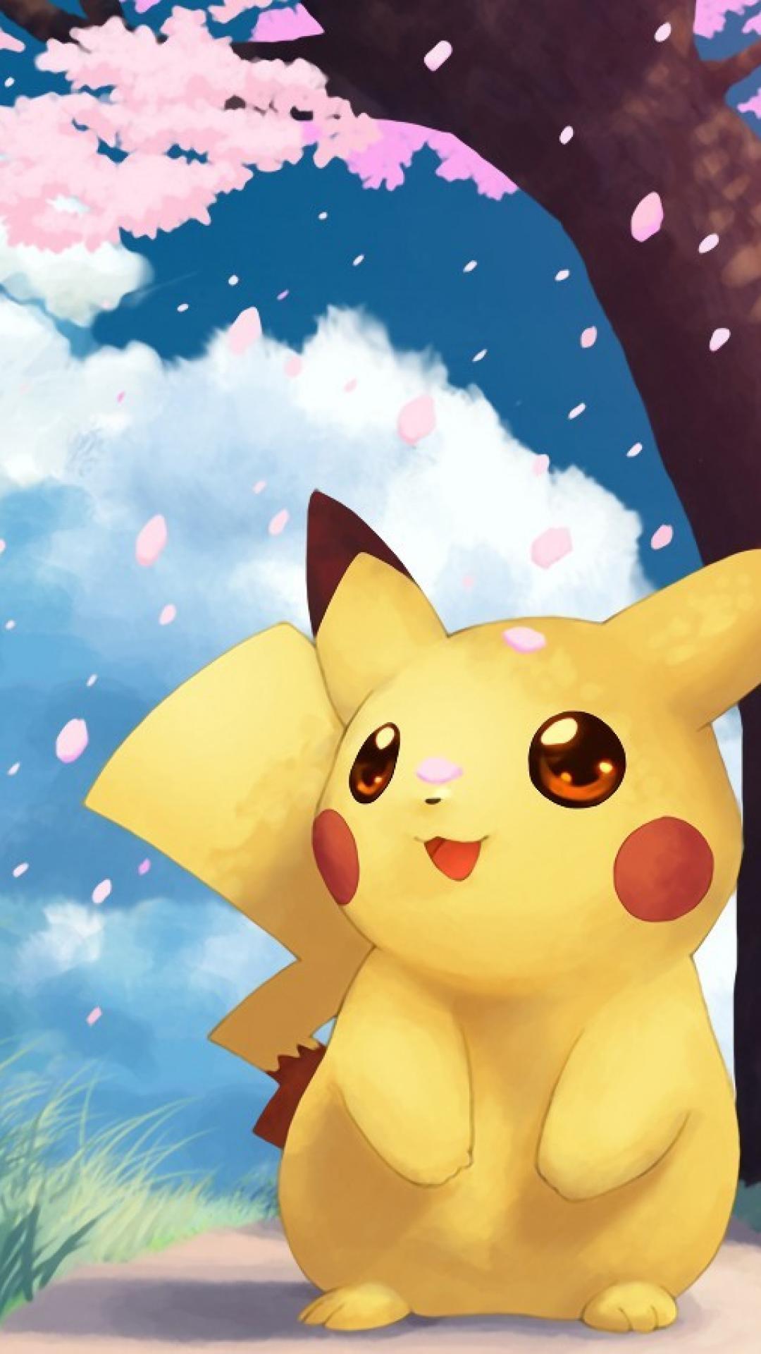 Cute Pokemon Wallpapers Pikachu - Wallpaper Cave