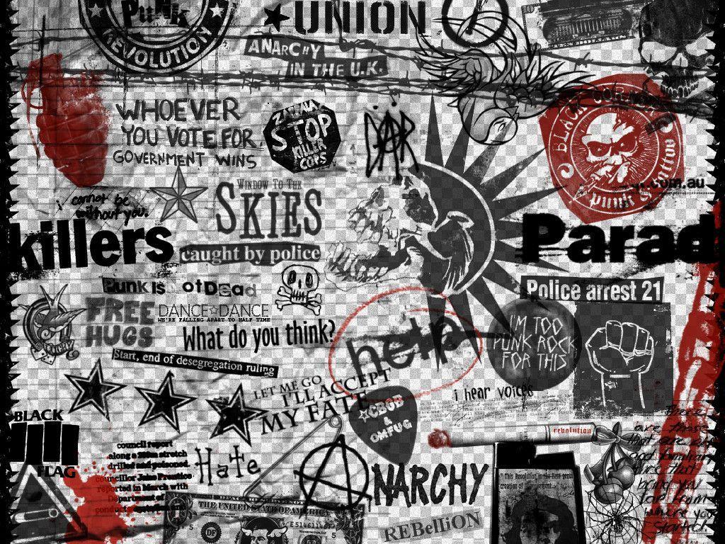 Punk Rock Album Covers Wallpaper