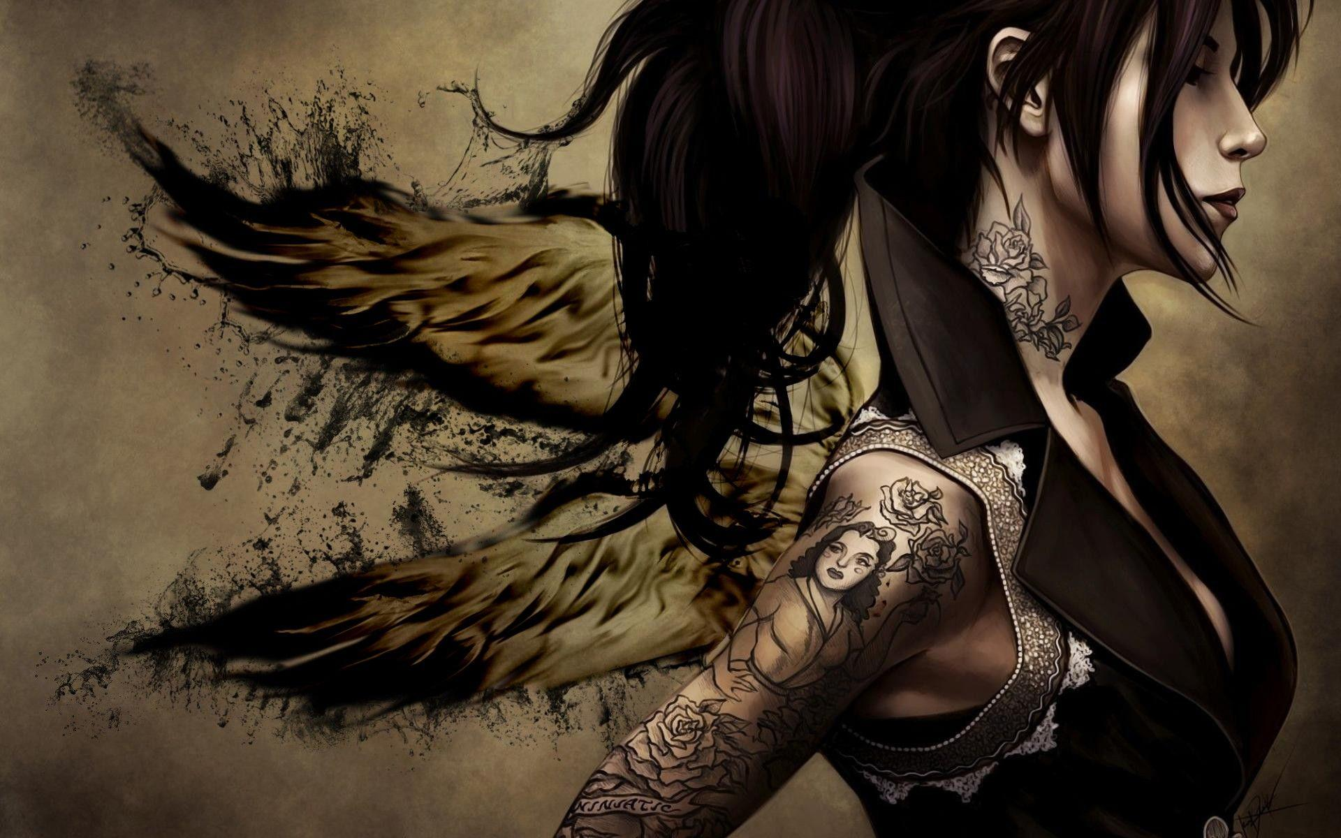 Free Tattoo Wallpapers Wallpaper Cave