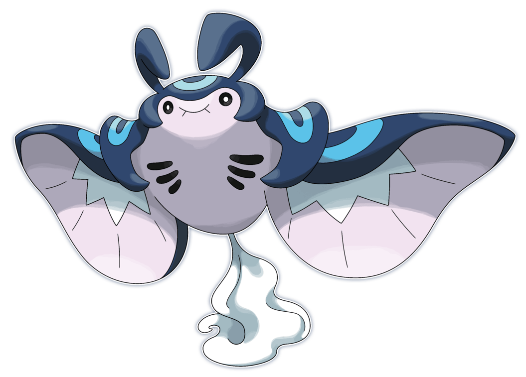 Mega Mantine by Smiley-Fakemon on DeviantArt
