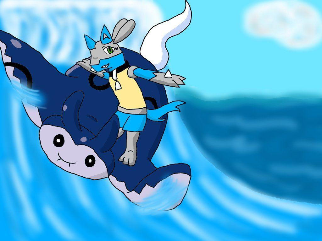 Surf's Up Dudes!-Ride Pkmn Mantine by KYR22 on DeviantArt