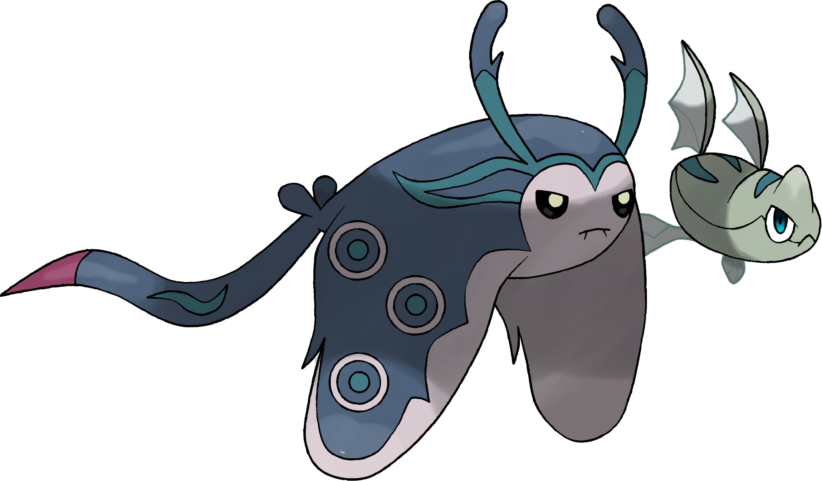 Mega-Mantine concept by Gyarados10 on DeviantArt