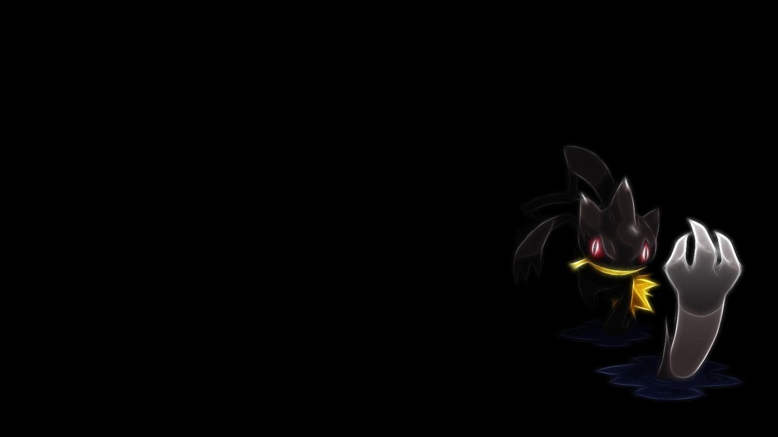 Download Wallpapers, Download pokemon fractalius black background ...